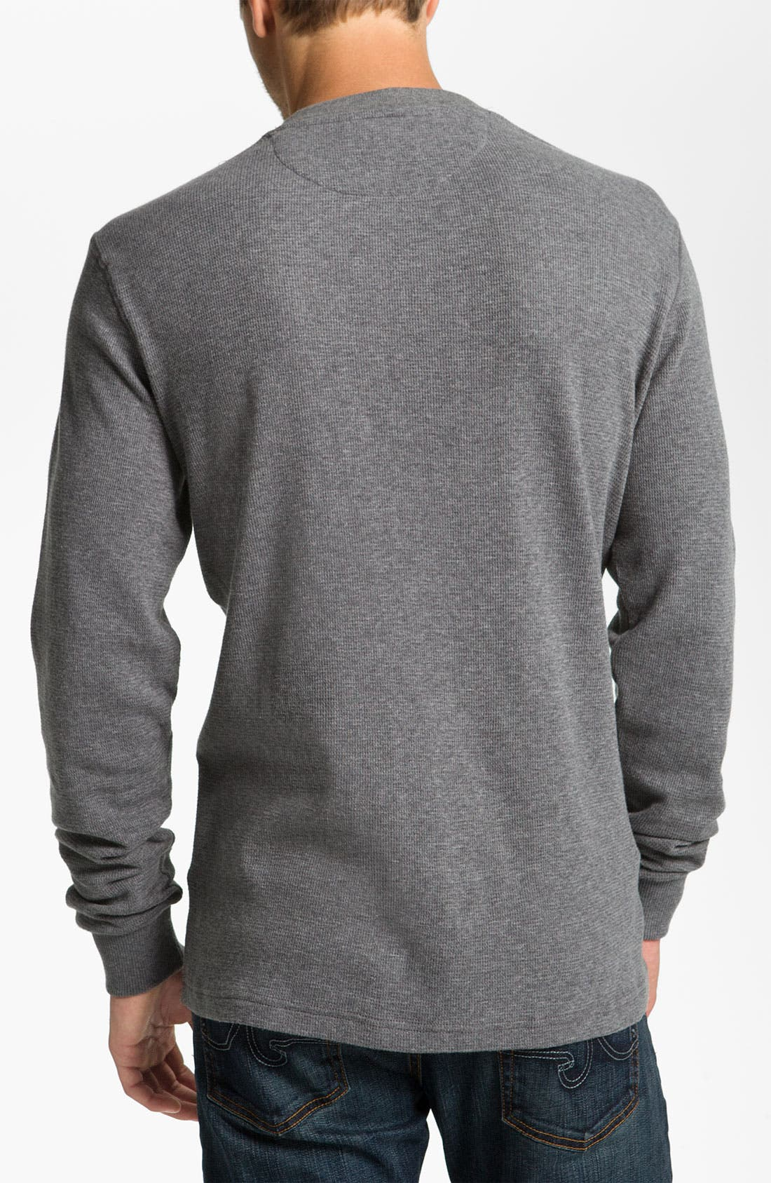 Alternate Image 2  - Fred Perry Long Sleeve Henley