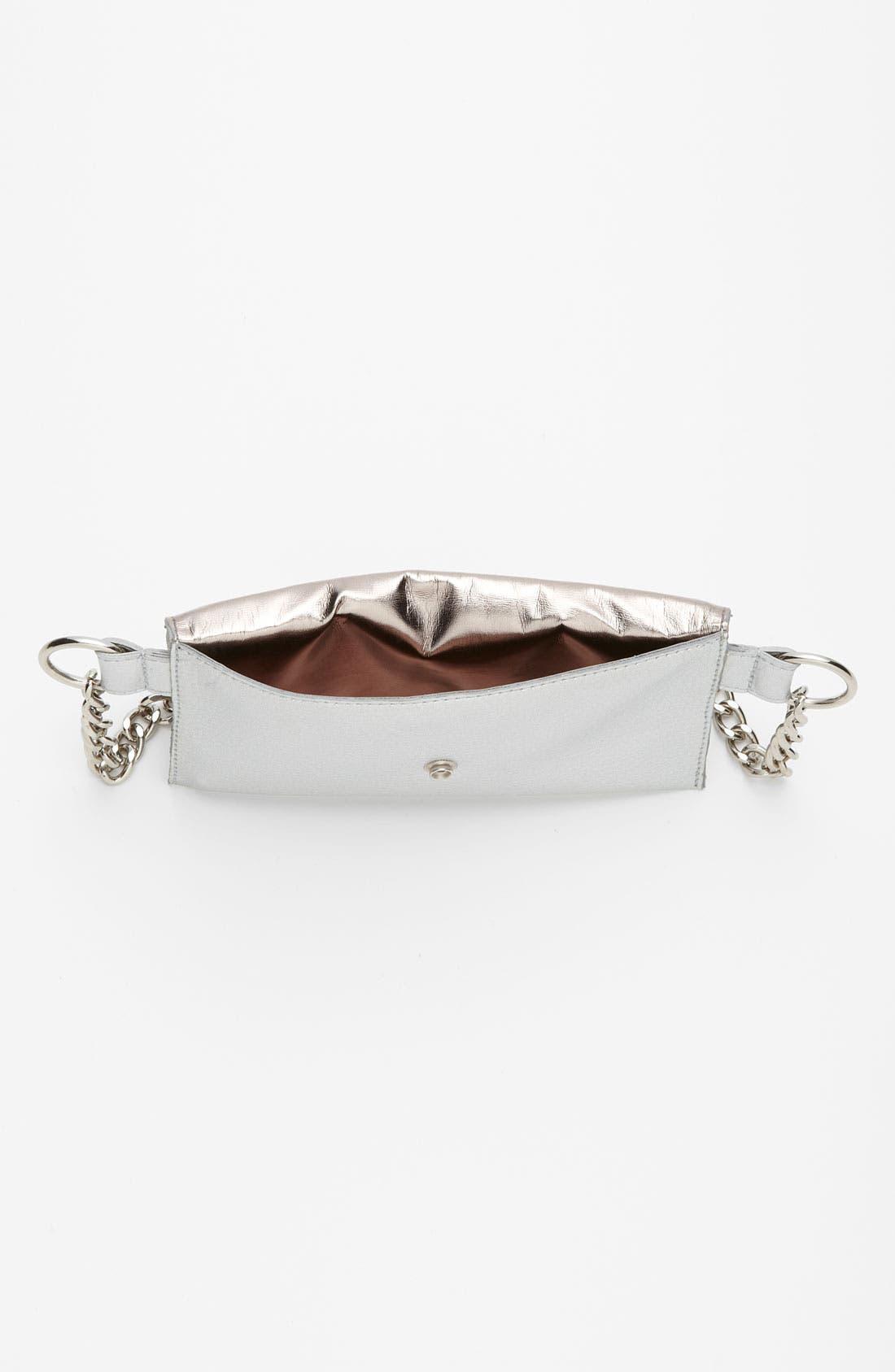 Alternate Image 3  - MICHAEL Michael Kors Chain Belt with Flap Bag