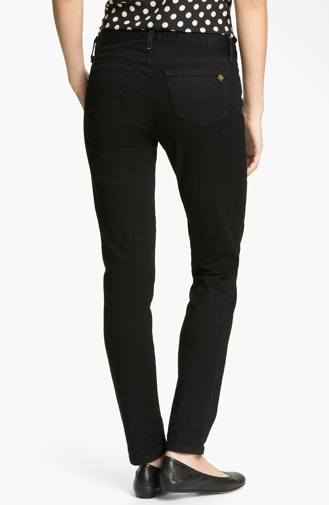 Alternate Image 2  - kate spade new york 'broome street' skinny jeans