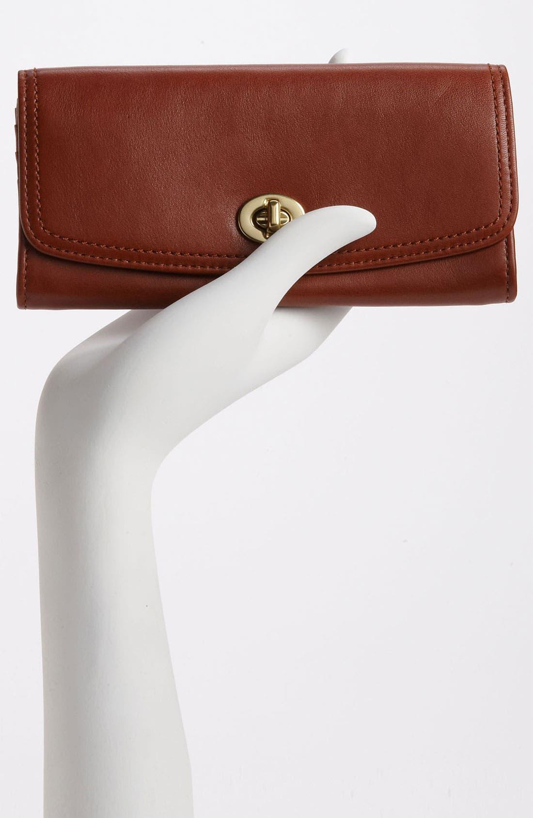 Alternate Image 2  - COACH 'Legacy - Slim' Leather Envelope Wallet