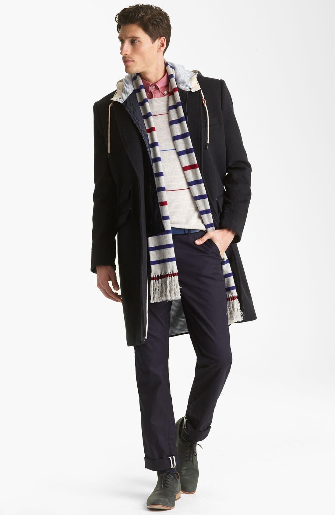 Alternate Image 4  - Shipley & Halmos 'Laurel' Cashmere Sweater