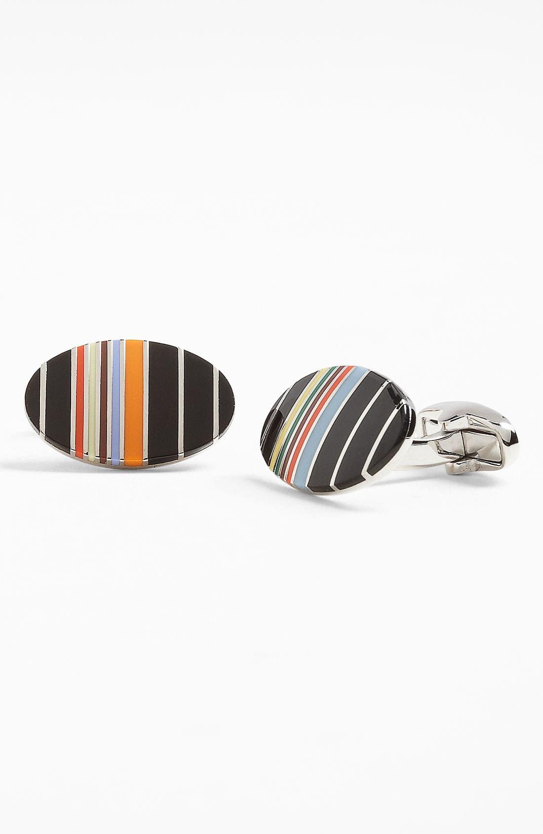 Main Image - Paul Smith Accessories Stripe Cuff Links