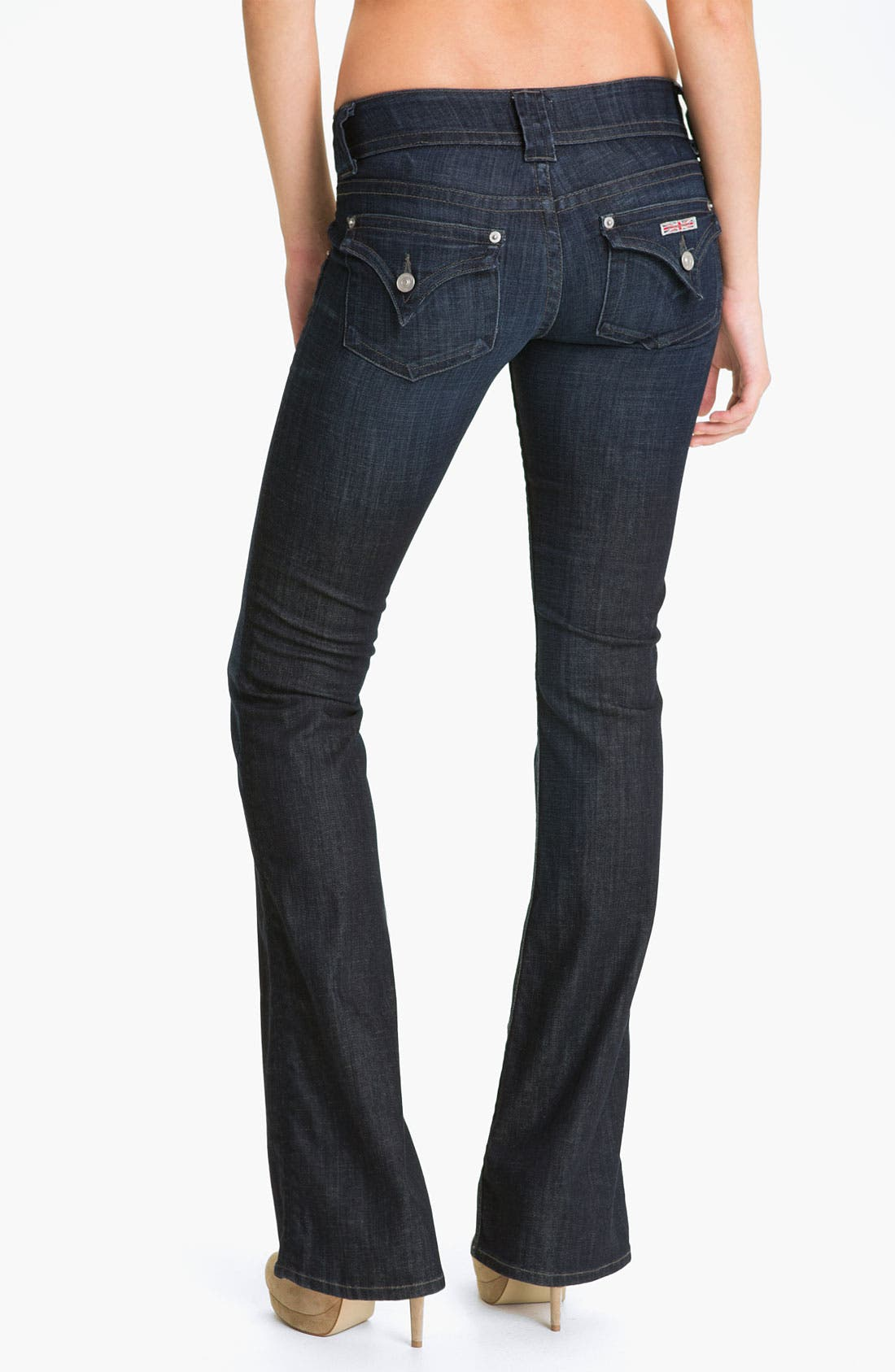 Alternate Image 2  - Hudson Jeans Signature Flap Pocket Bootcut Jeans (Savage)