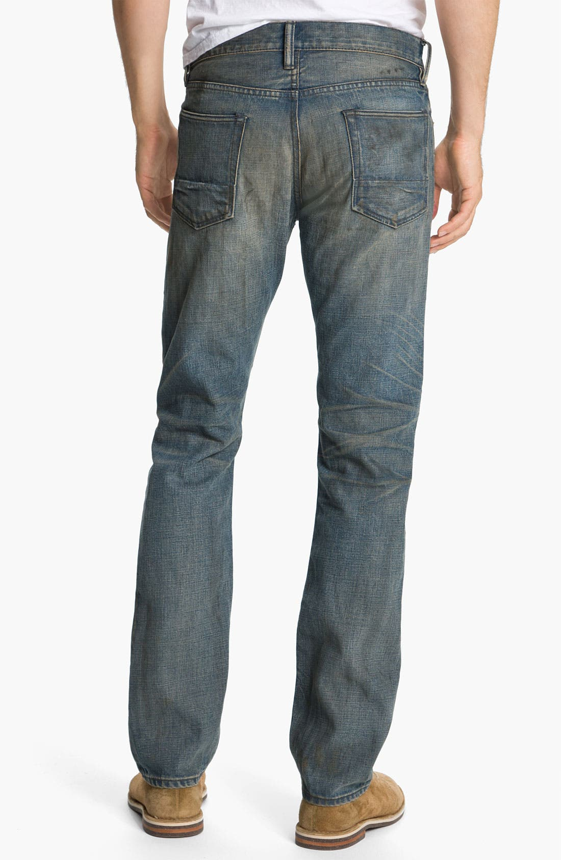 Alternate Image 1 Selected - NSF Clothing Straight Leg Jeans (Wilson)