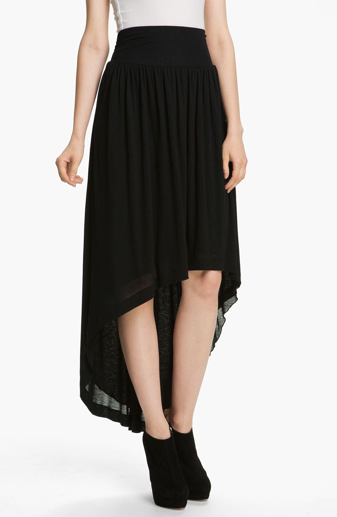 Alternate Image 1 Selected - Twenty8Twelve Jersey Skirt