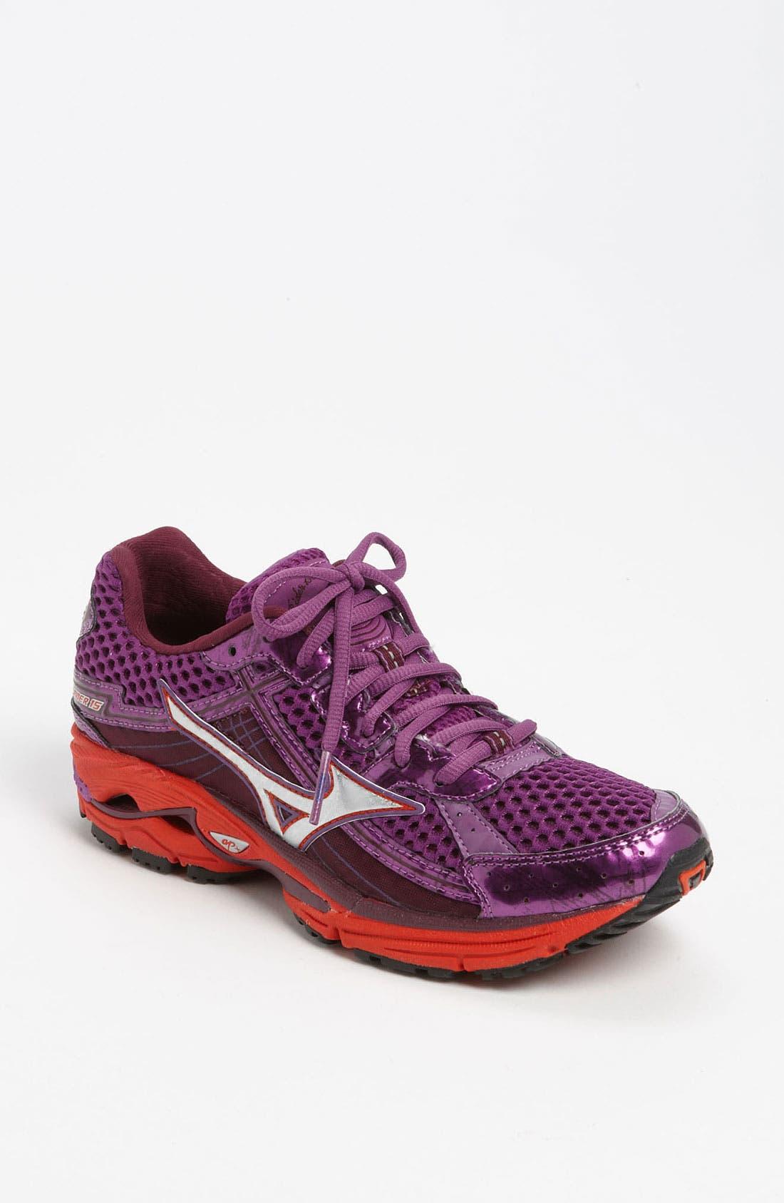 Main Image - Mizuno 'Wave Rider 15' Running Shoe (Women) (Regular Retail Price: $144.95)