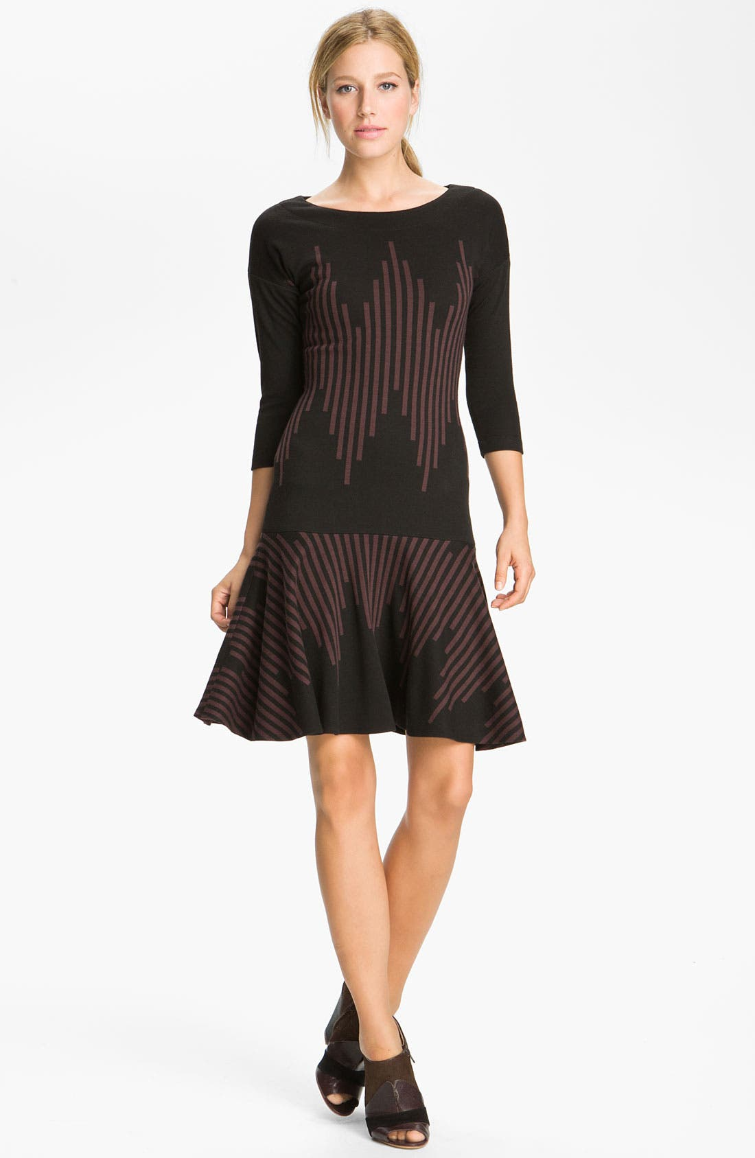 Alternate Image 1 Selected - Tracy Reese Stripe Knit Dress