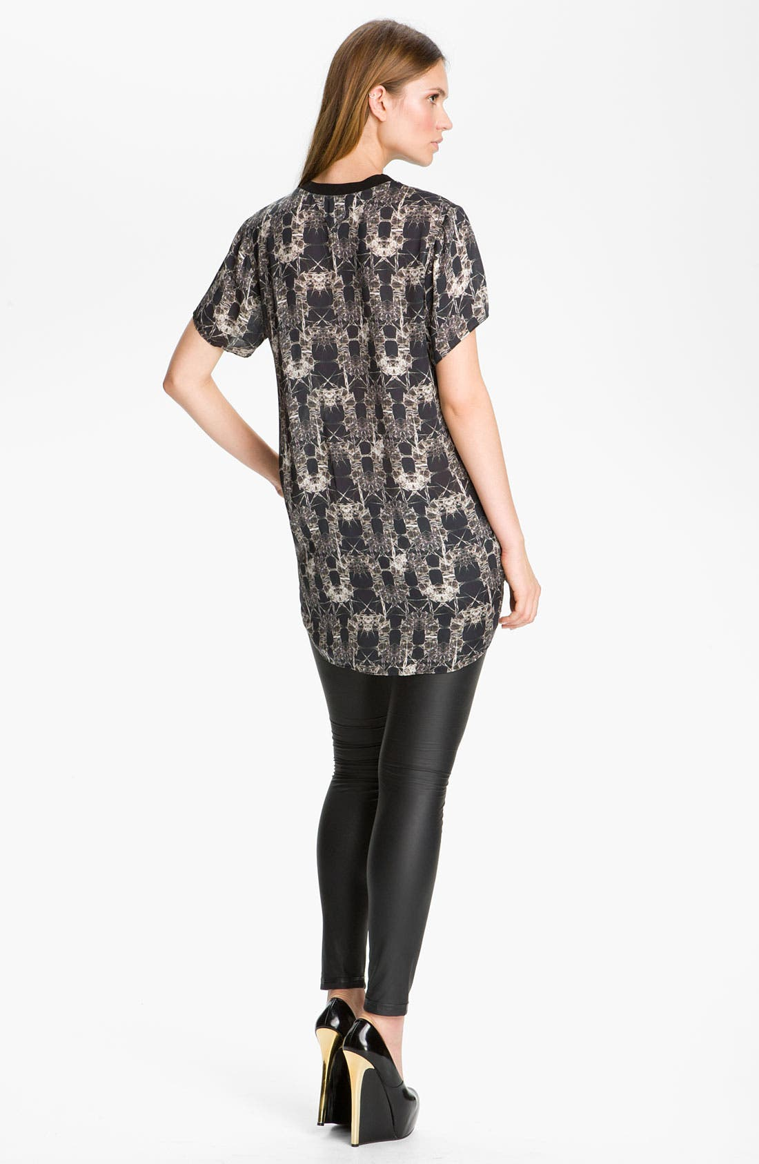 Alternate Image 2  - Theyskens' Theory 'Dious Igate' Print Tunic