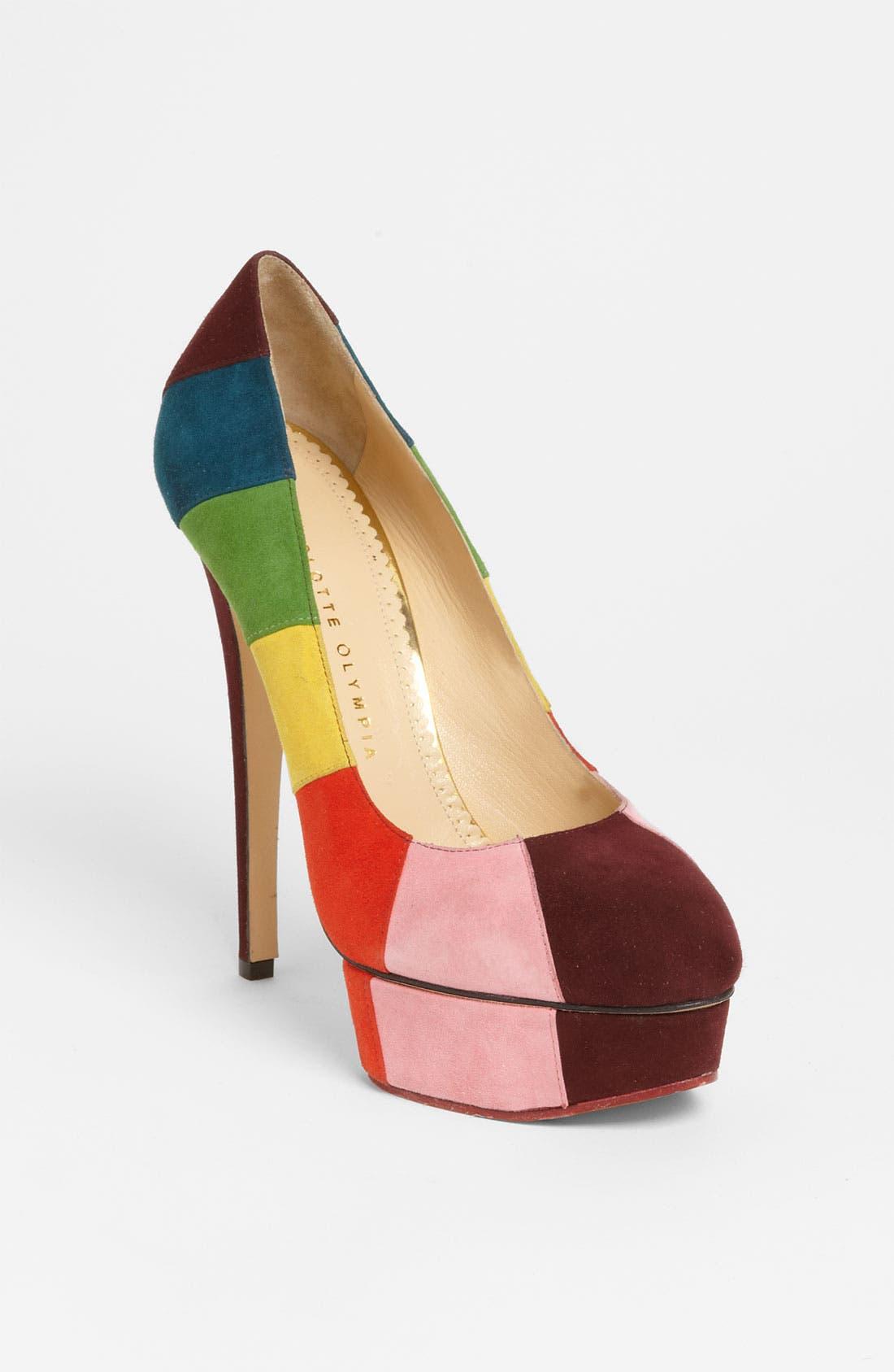 Alternate Image 1 Selected - Charlotte Olympia 'Rainbow' Pump