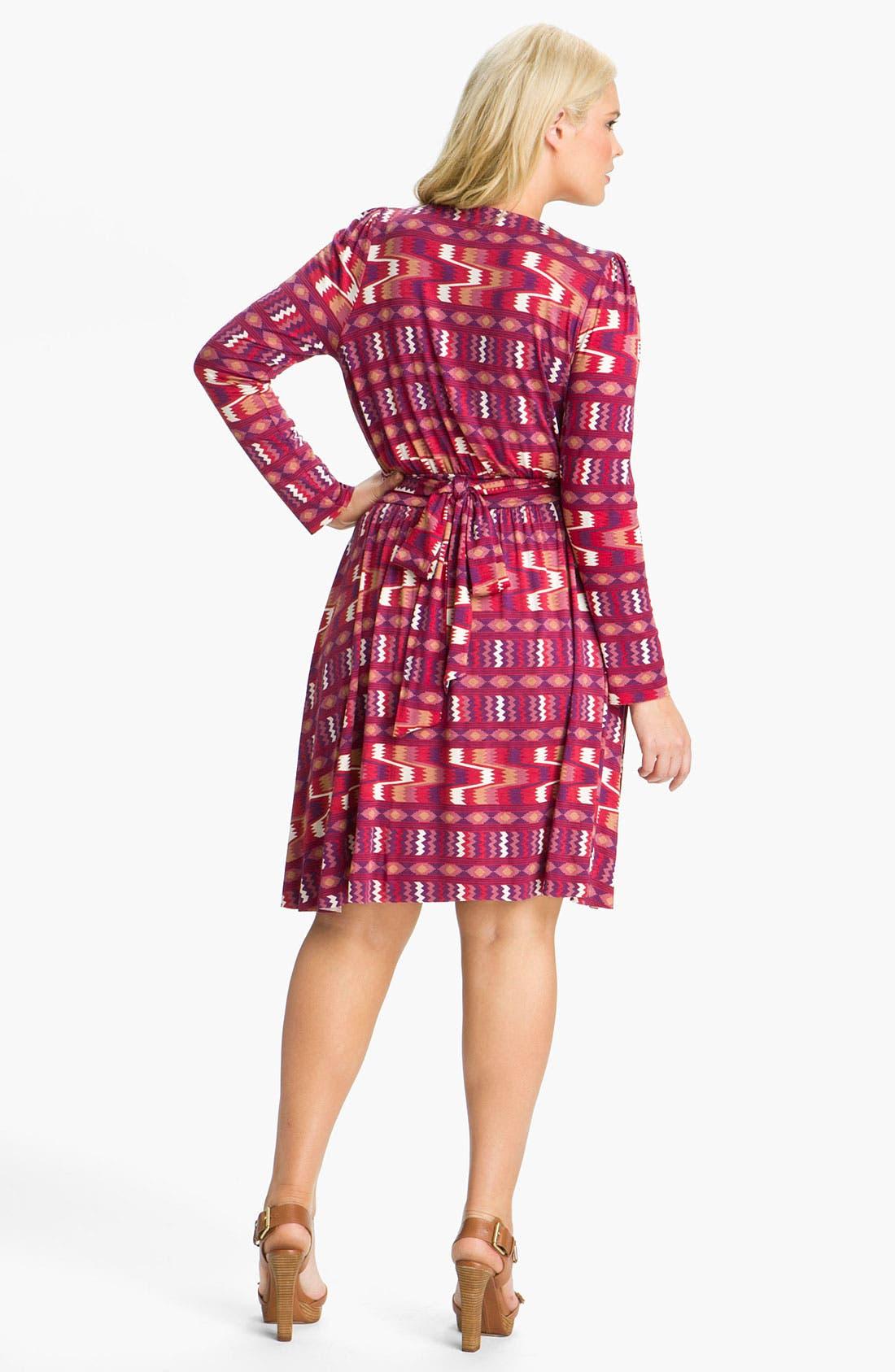 Alternate Image 2  - Rachel Pally 'Rocio' Print Wrap Dress (Plus)