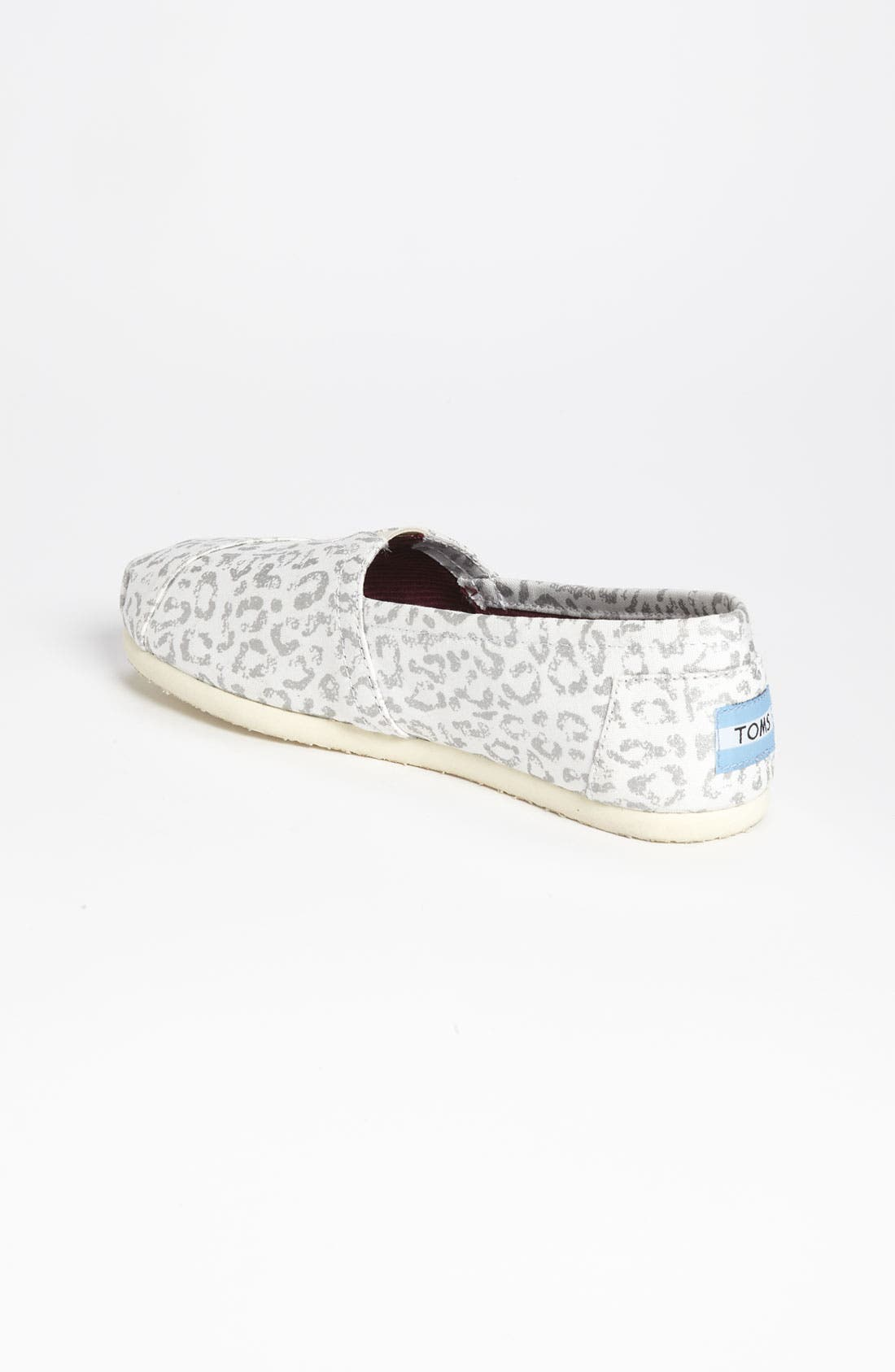 Alternate Image 2  - TOMS 'Classic - Snow Leopard' Slip-On (Women)