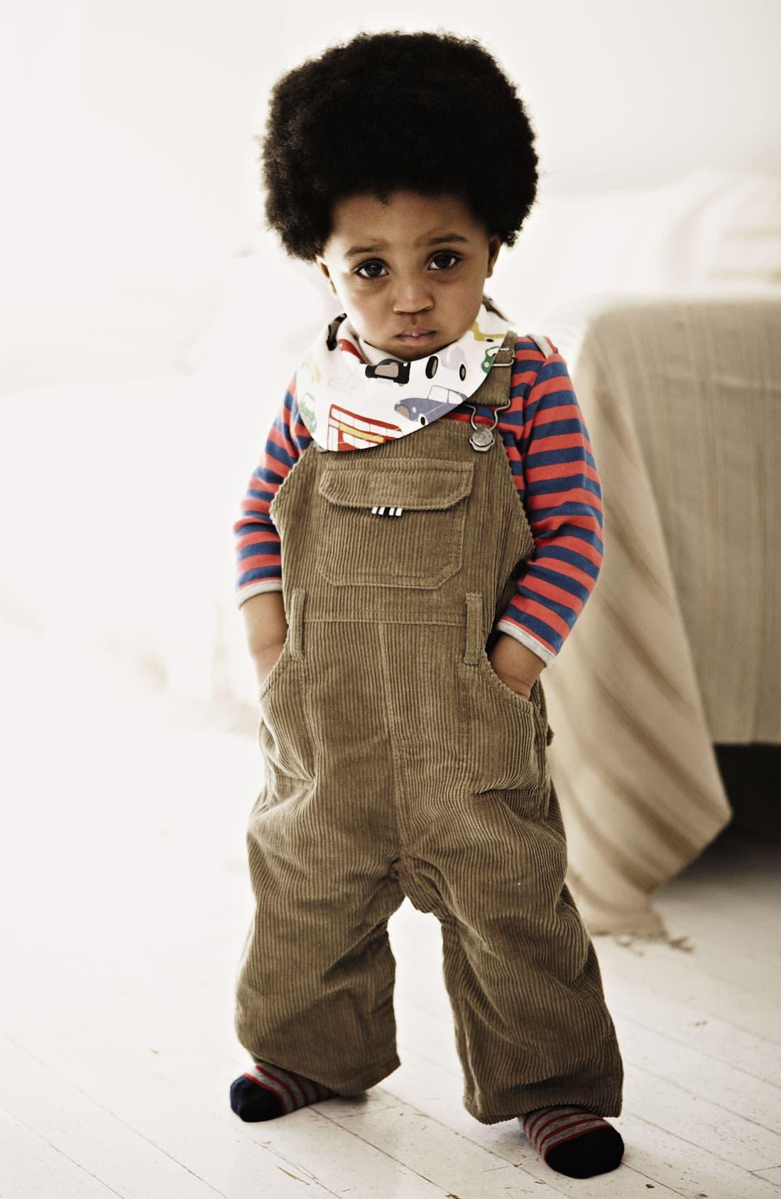 Alternate Image 2  - Mini Boden Stripe T-Shirt (2-Pack) (Infant)