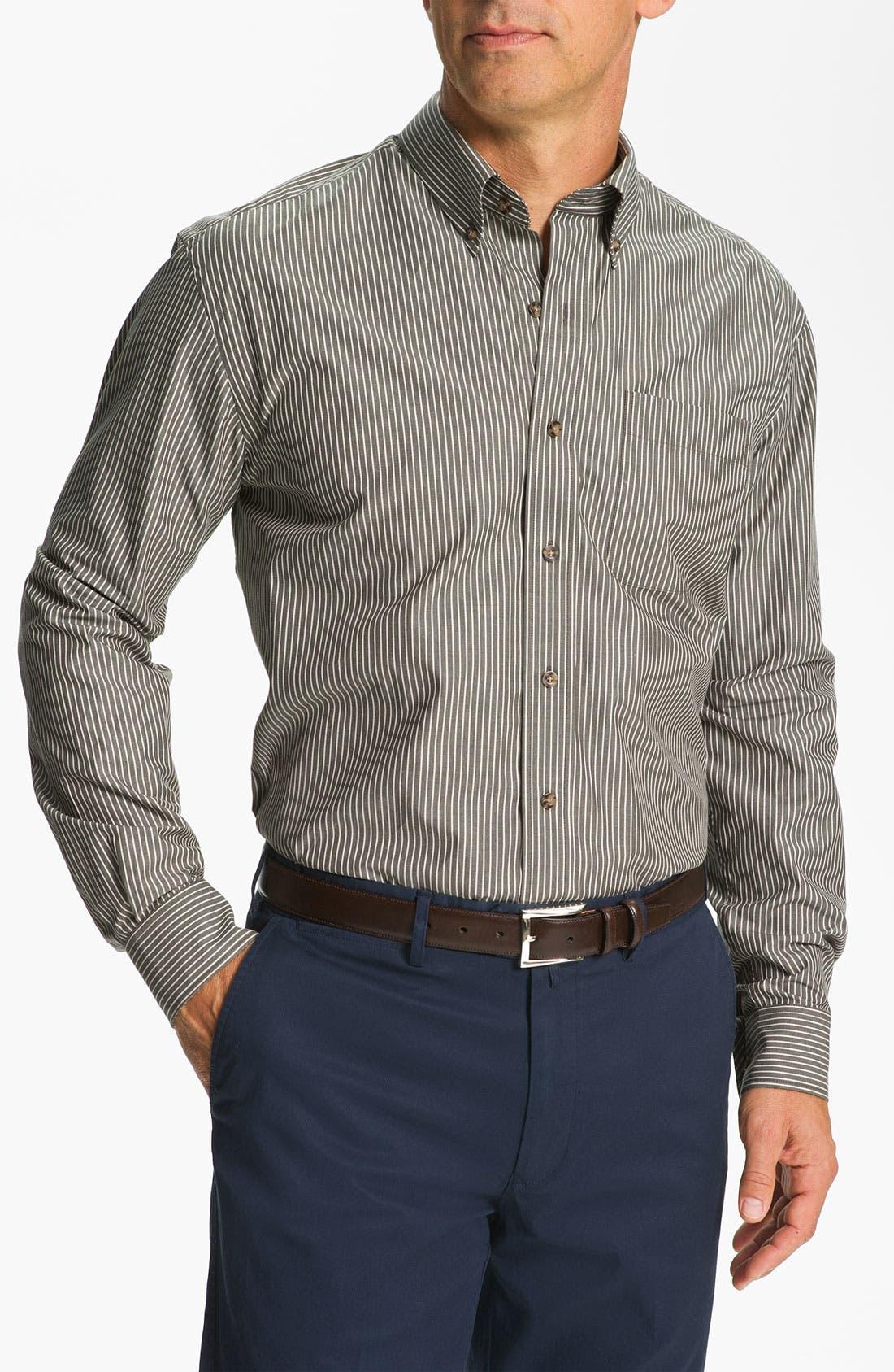 Alternate Image 1 Selected - Cutter & Buck 'Liberty Bell' Stripe Sport Shirt