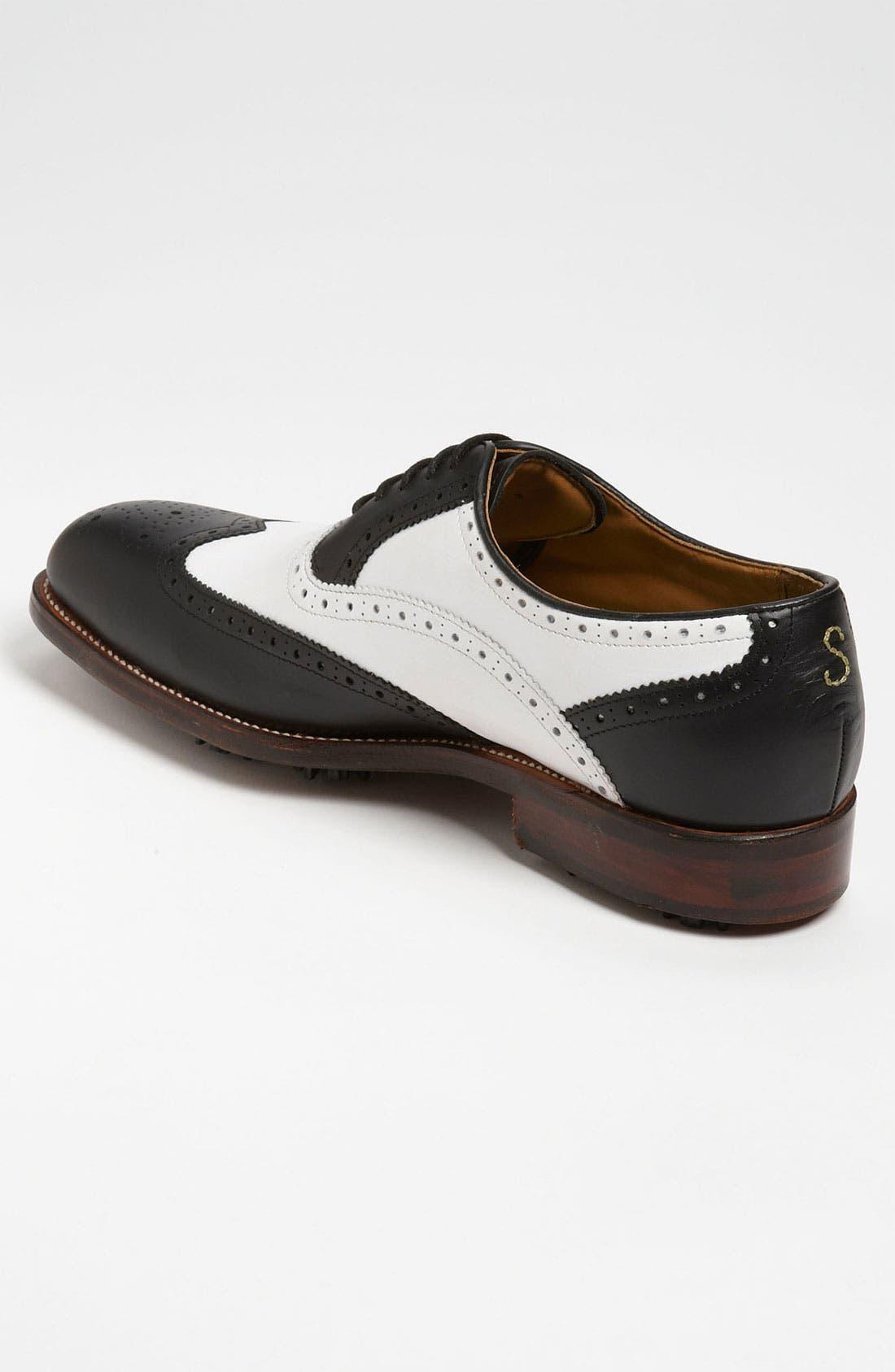 Alternate Image 2  - Oliver Sweeney 'Royale' Wingtip Golf Shoe (Men)
