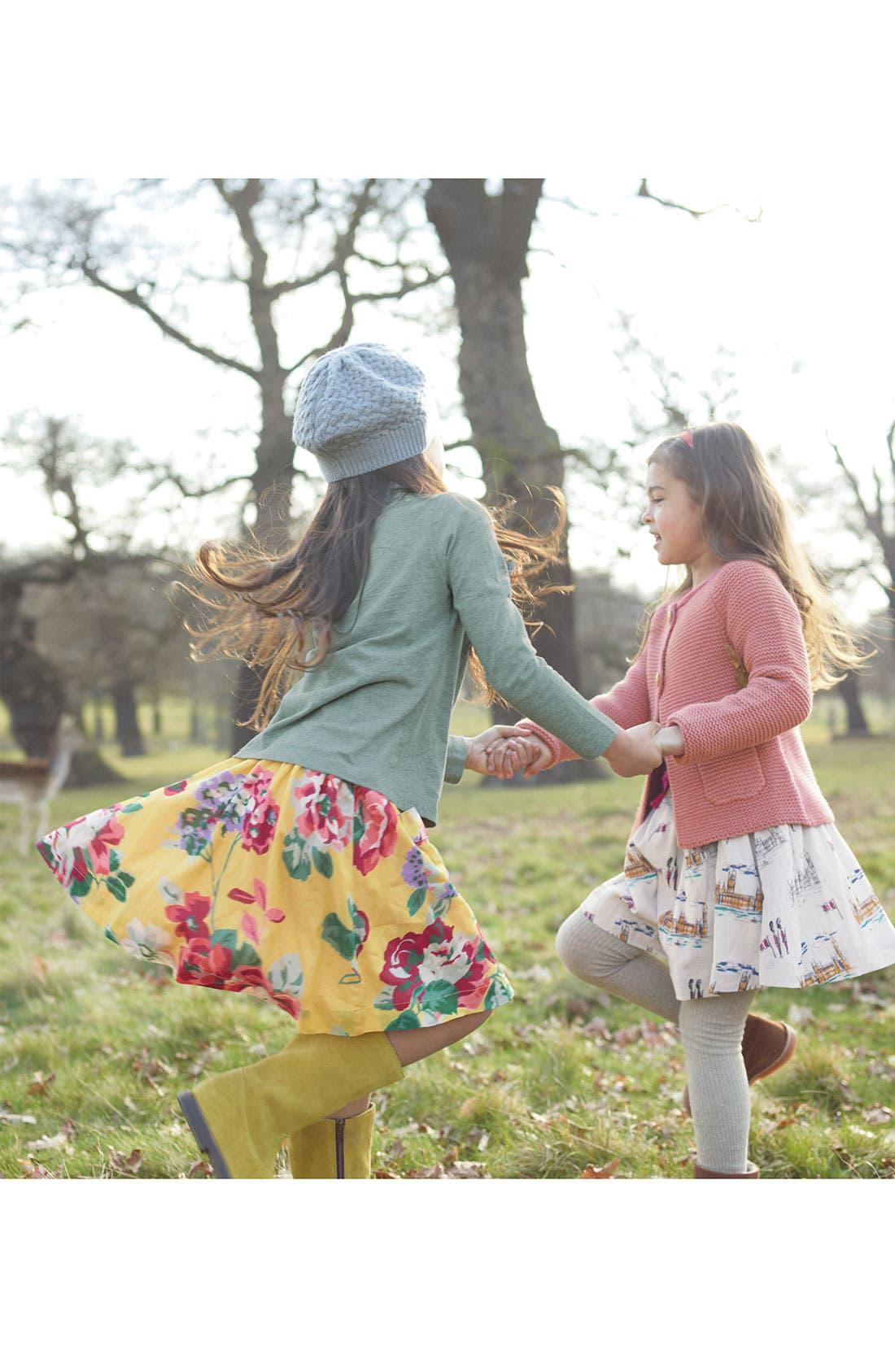 Alternate Image 2  - Mini Boden Print Skirt (Little Girls & Big Girls)
