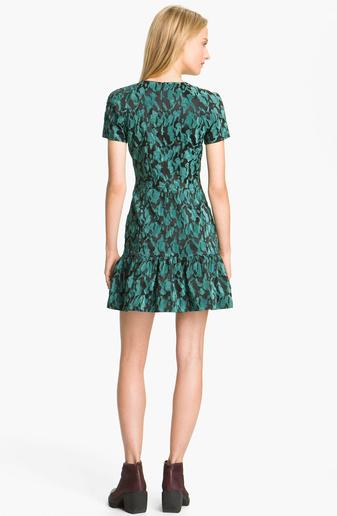 Alternate Image 2  - Opening Ceremony Ruffled T-Shirt Dress