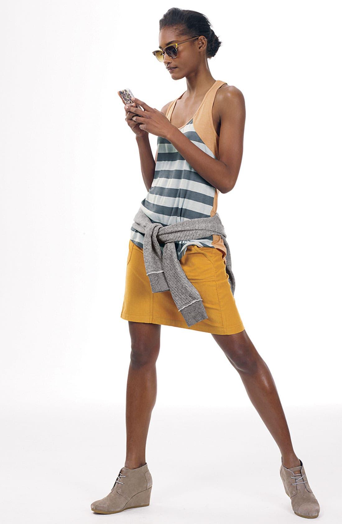 Alternate Image 5  - Caslon® Corduroy Skirt