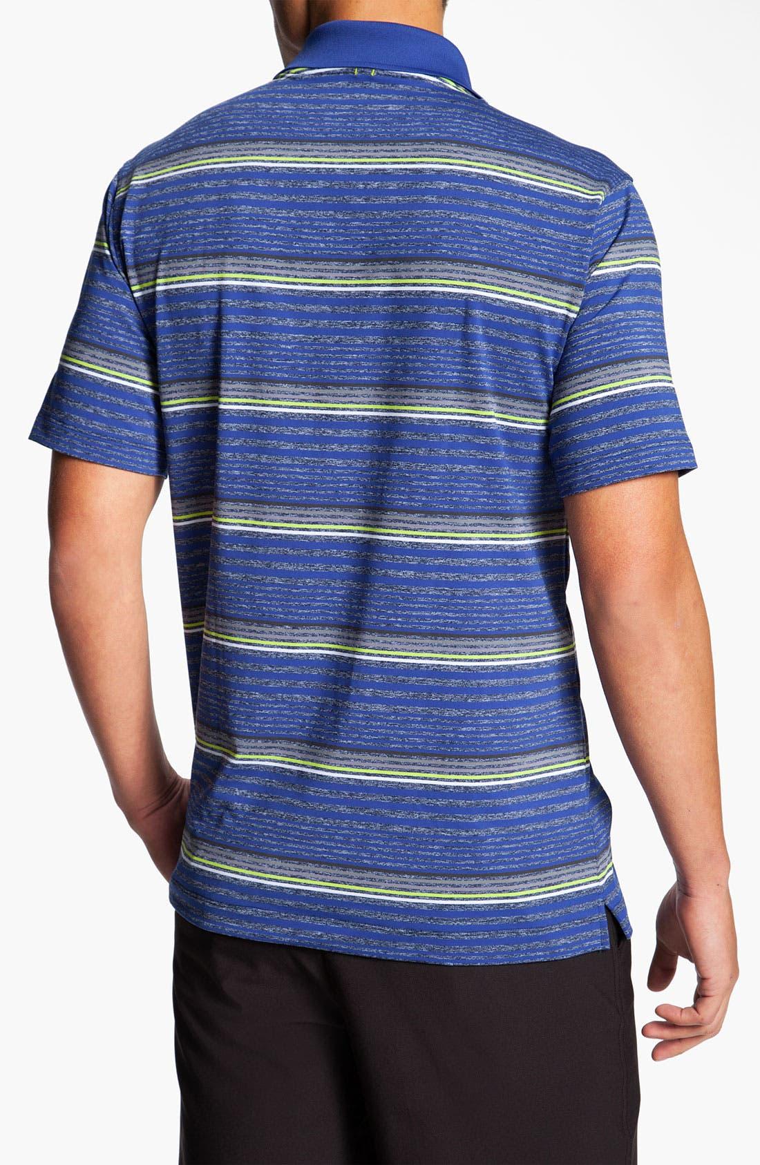 Alternate Image 2  - Nike Golf 'Fashion Stripe' Dri-FIT Polo
