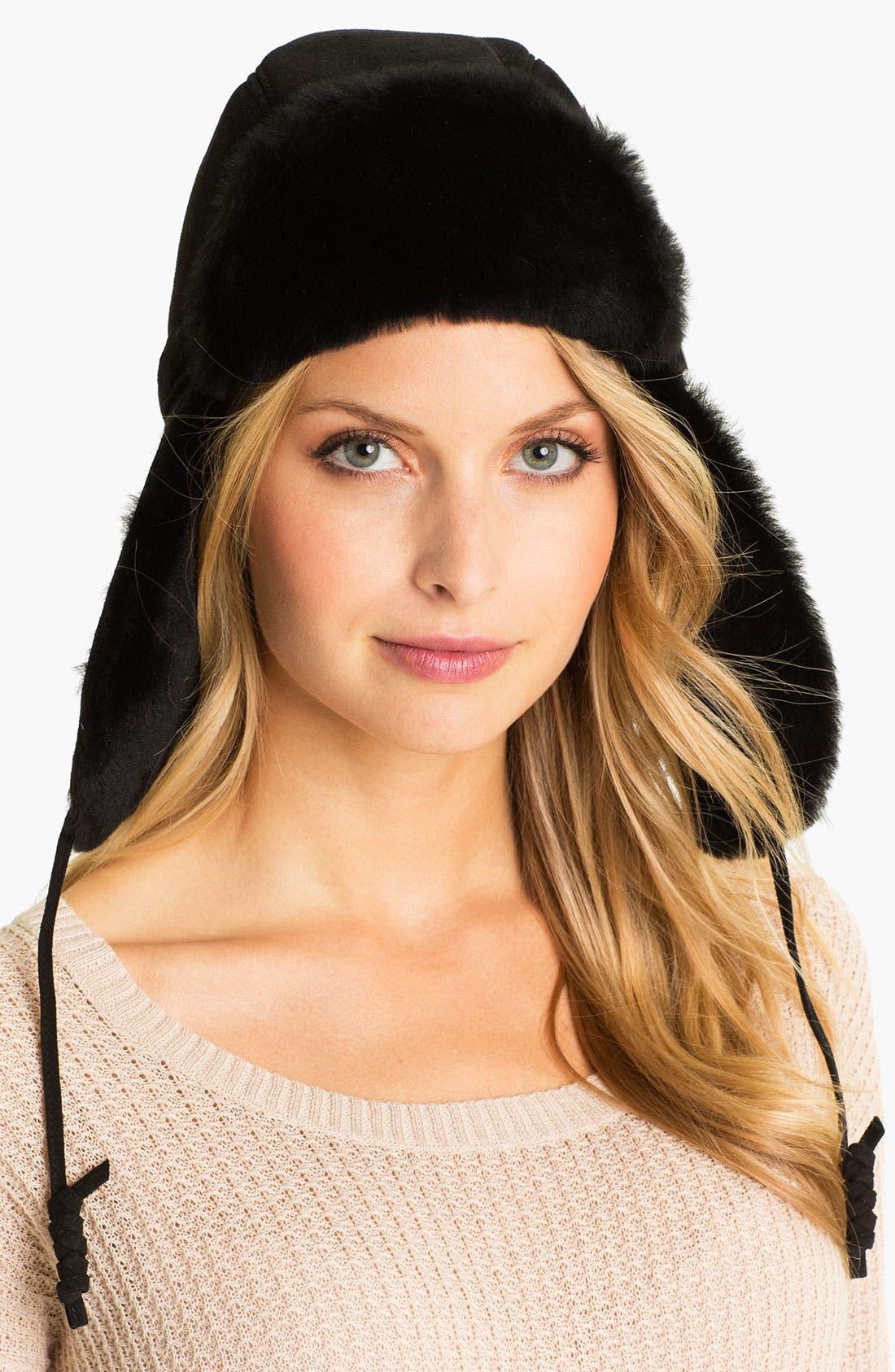 Alternate Image 1 Selected - UGG® Australia 'Belted Bailey' Trapper Hat
