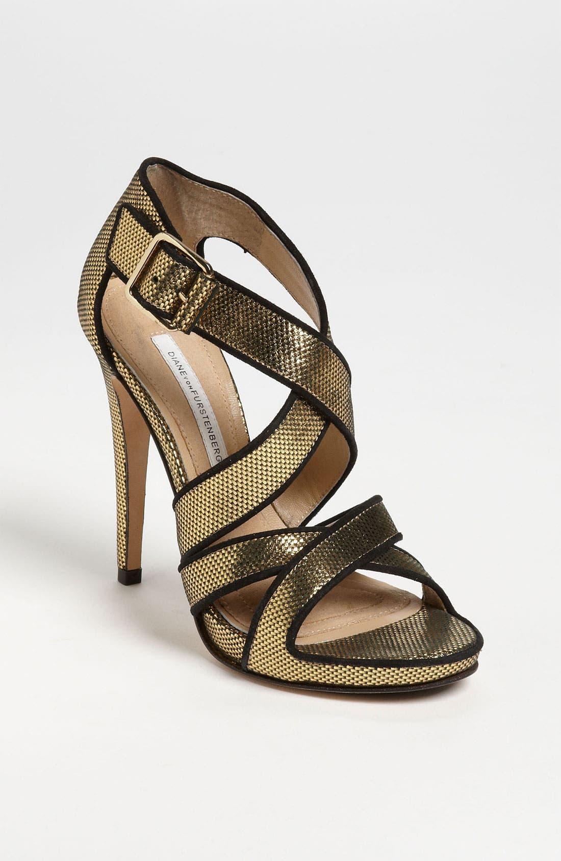 Main Image - Diane von Furstenberg 'Jodi' Sandal (Online Only)