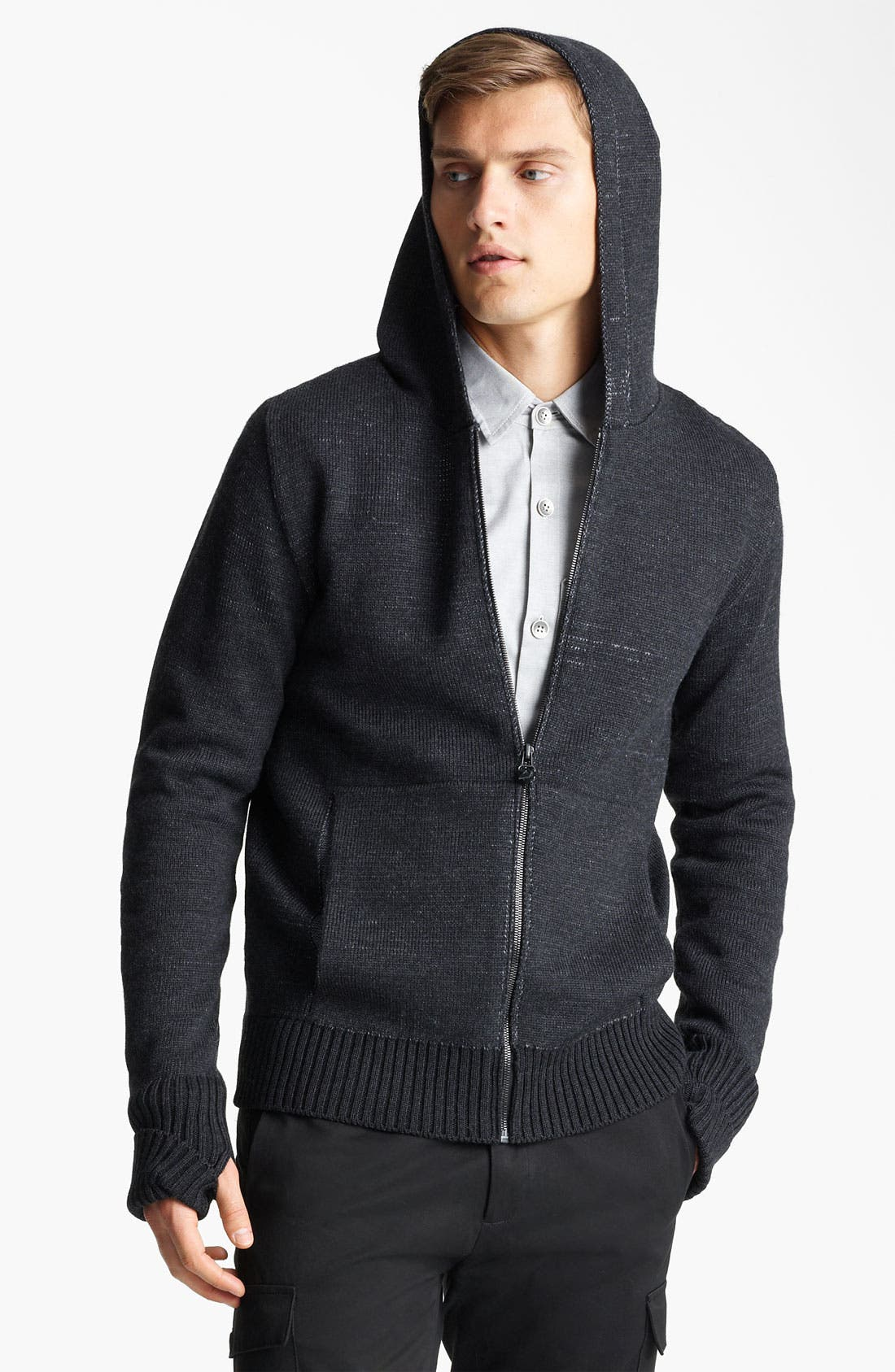 Alternate Image 1 Selected - Field Scout Merino Wool Hooded Sweater