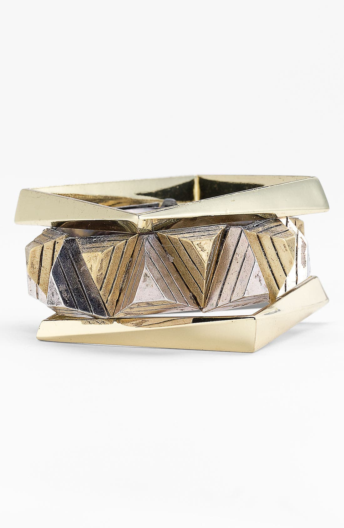 Alternate Image 1 Selected - Natasha Couture Square Bangle Set