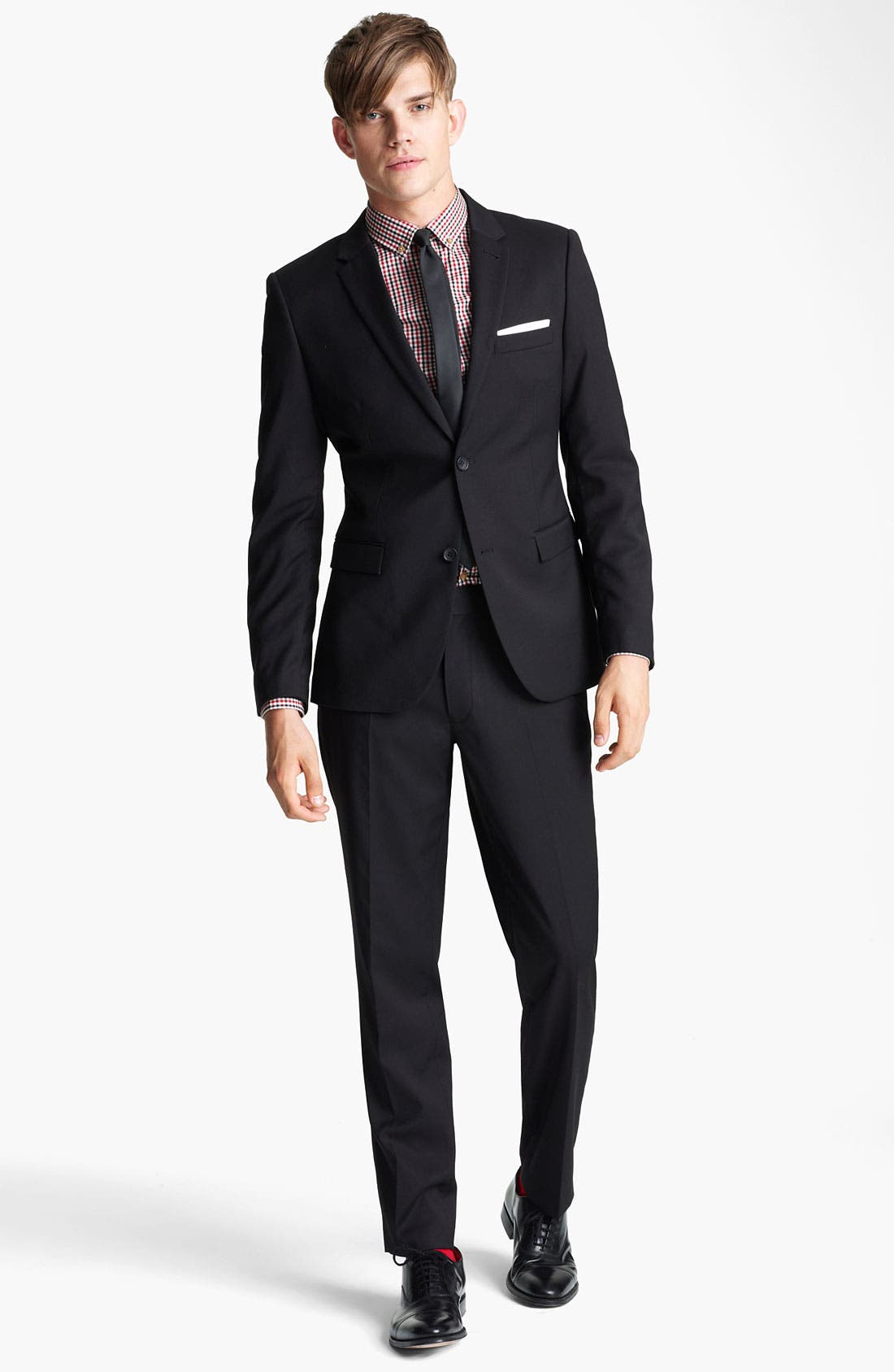 Alternate Image 4  - Topman Skinny Fit Blazer