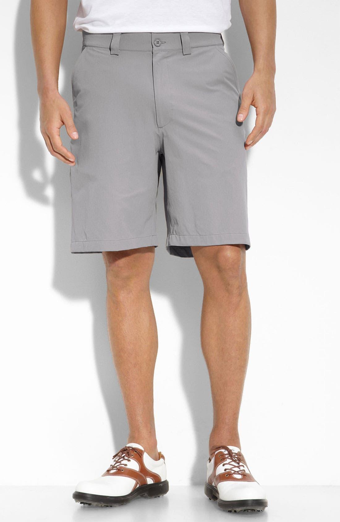 Alternate Image 1 Selected - Under Armour 'Bent Grass' HeatGear® Golf Shorts