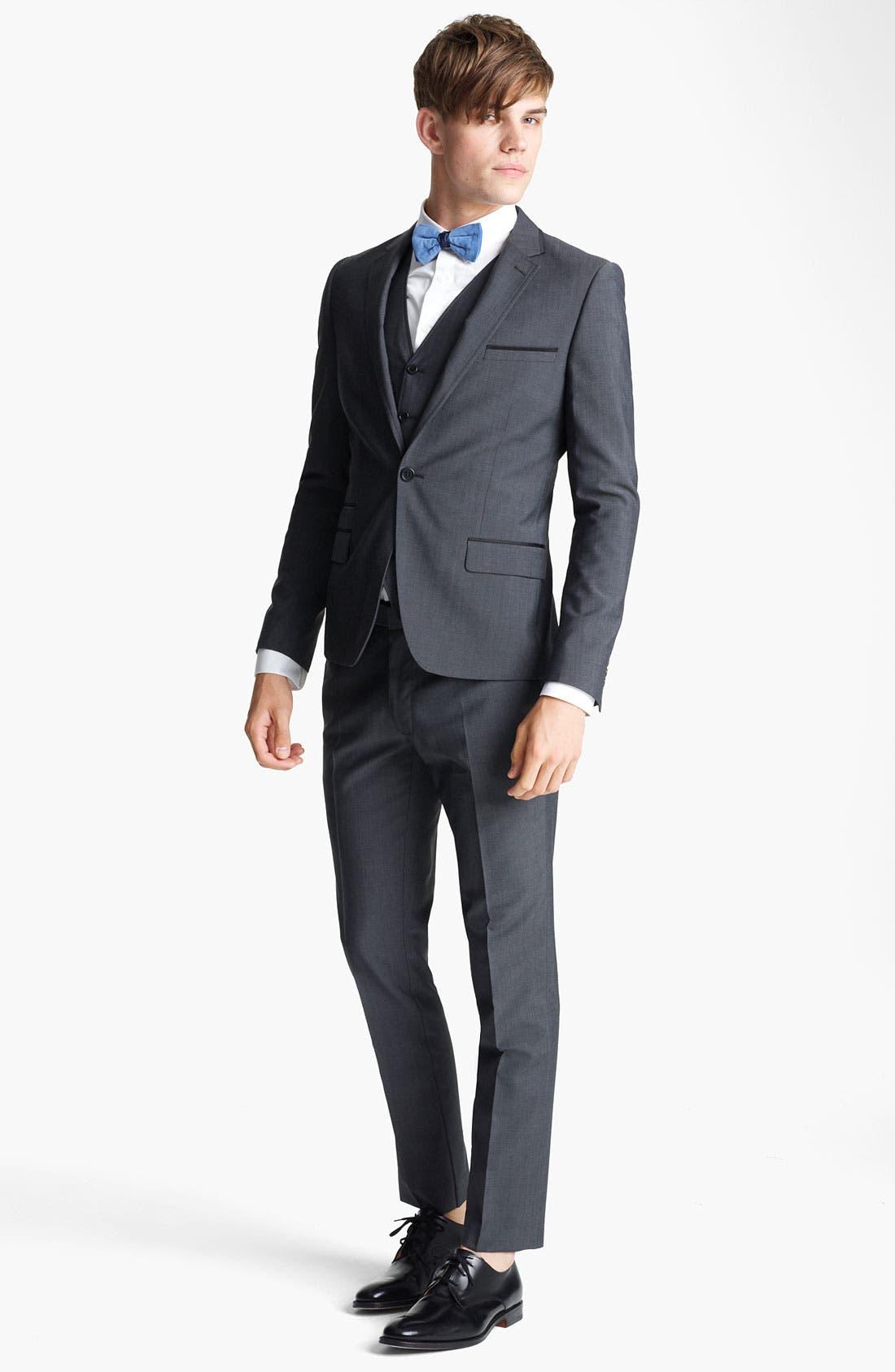Alternate Image 4  - Topman 'Novak' Skinny Blazer