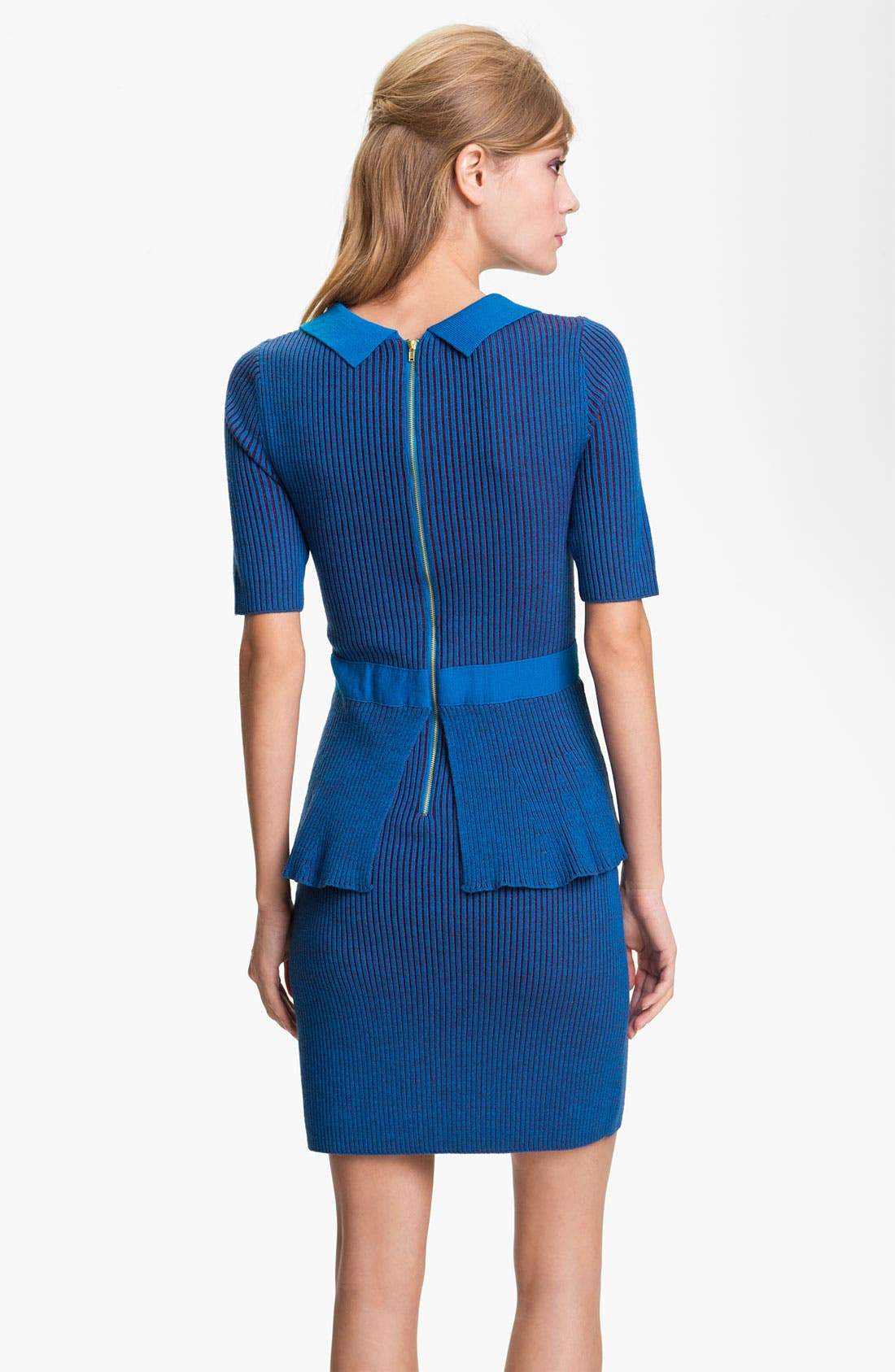 Alternate Image 2  - Nanette Lepore 'The Empress' Merino Wool Sheath Dress (Online Exclusive)