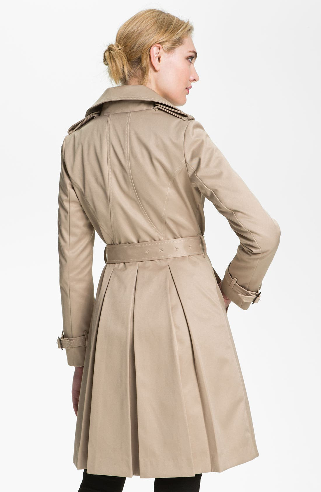 Alternate Image 2  - Dawn Levy Trench Coat with Detachable Liner