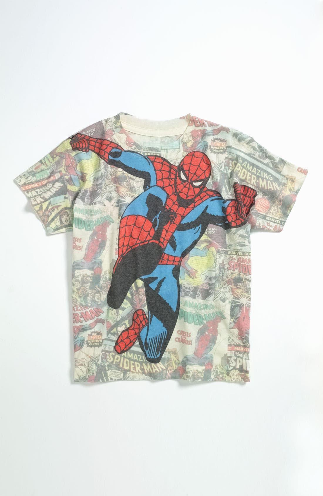 Main Image - Jem 'Spider-Man®' T-Shirt (Little Boys)