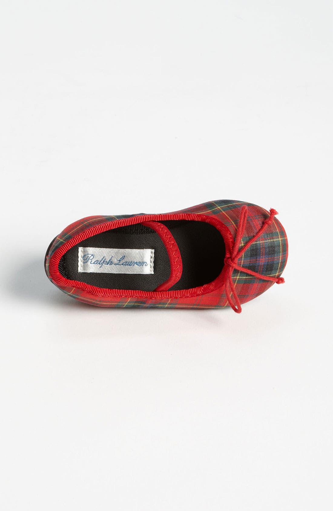 Alternate Image 3  - Ralph Lauren Layette Crib Shoe (Baby)