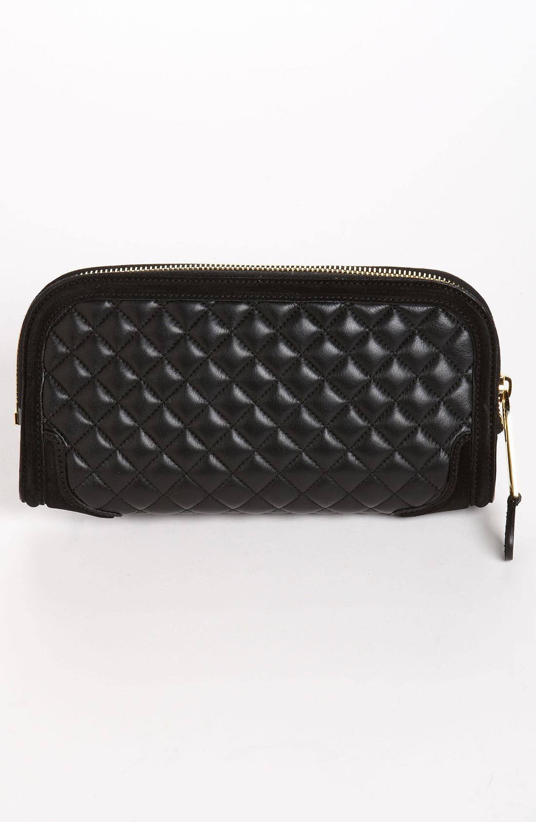 Alternate Image 4  - Burberry Prorsum Quilted Leather Clutch