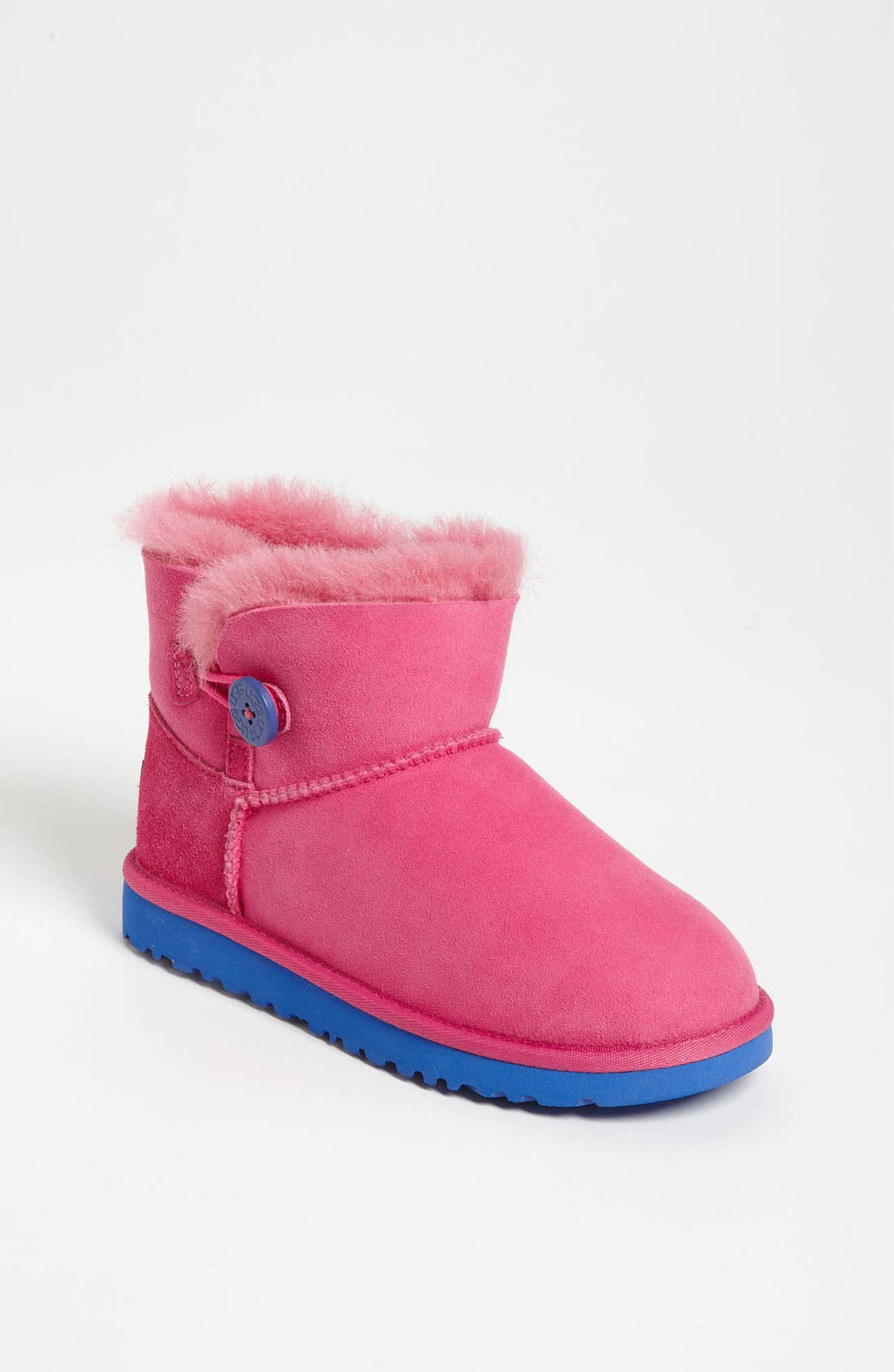 Main Image - UGG® Australia 'Mini Bailey' Button Boot (Walker, Toddler, Little Kid & Big Kid)