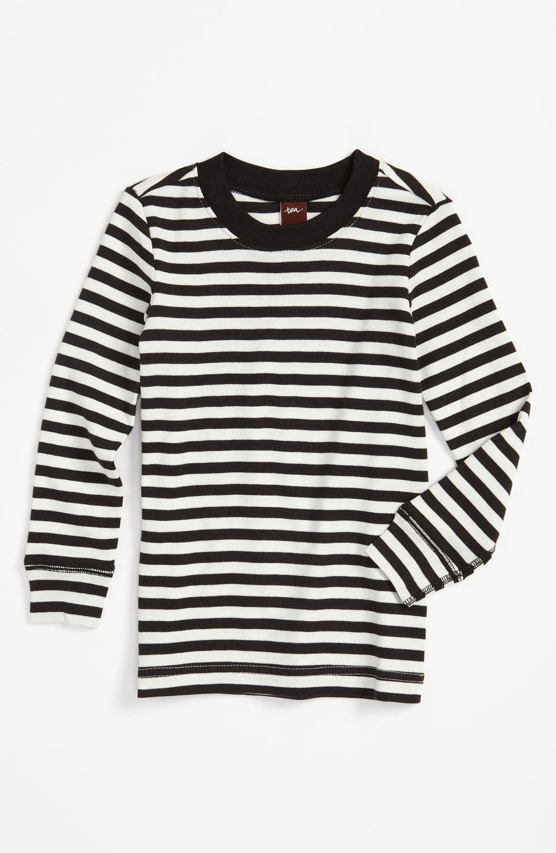 Alternate Image 1 Selected - Tea Collection 'Mod Stripe' T-Shirt (Toddler)