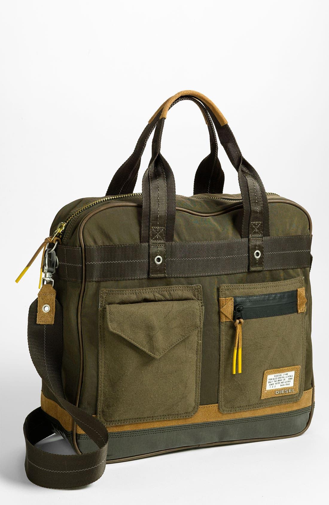 Alternate Image 1 Selected - DIESEL® 'T-Ten' Zip Briefcase