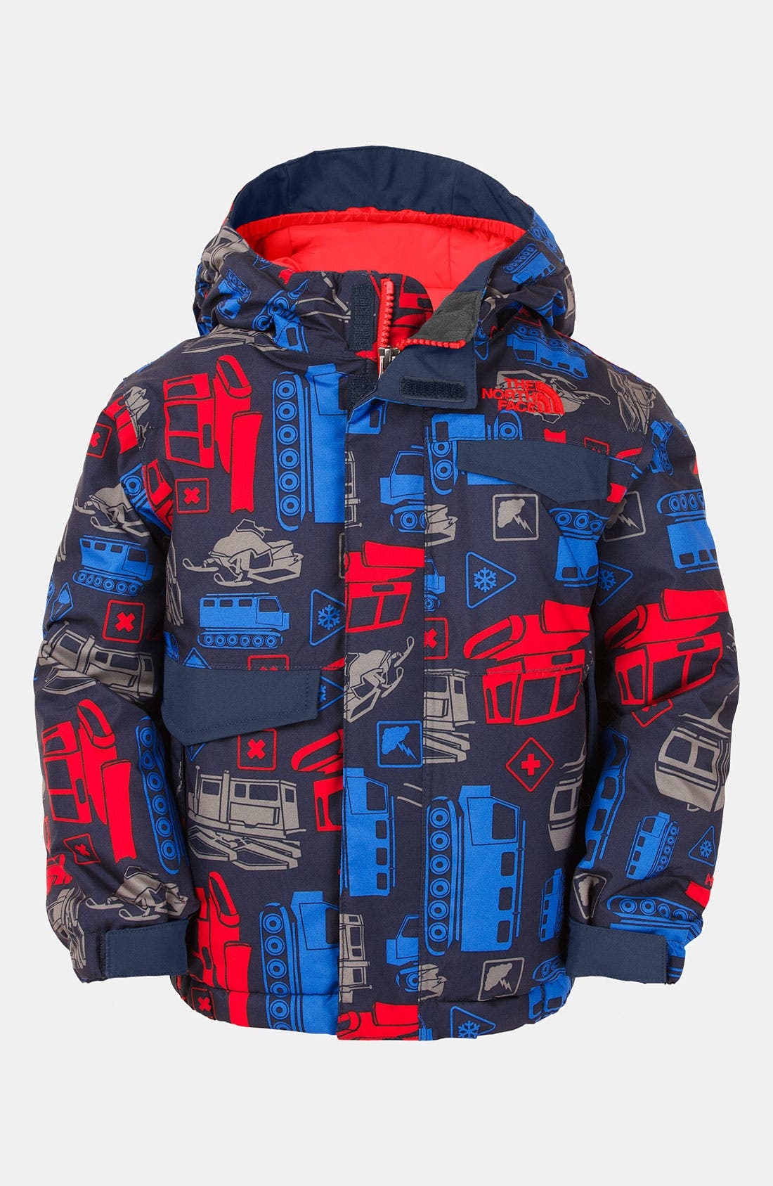 Alternate Image 1 Selected - The North Face 'Blaeke' Hooded Waterproof Jacket (Toddler)