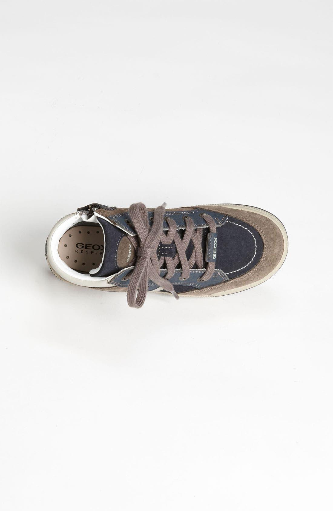 Alternate Image 3  - Geox High Top Sneaker (Toddler, Little Kid & Big Kid)