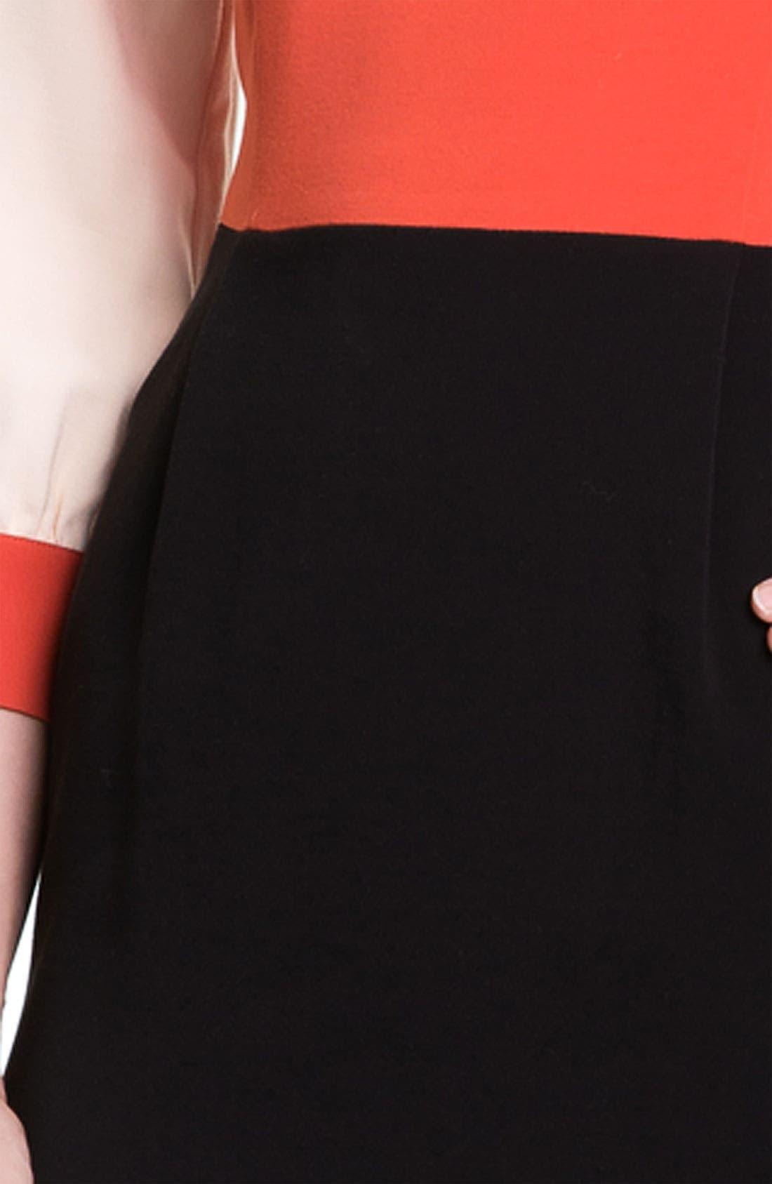 Alternate Image 3  - kate spade new york 'parker' colorblock sheath dress
