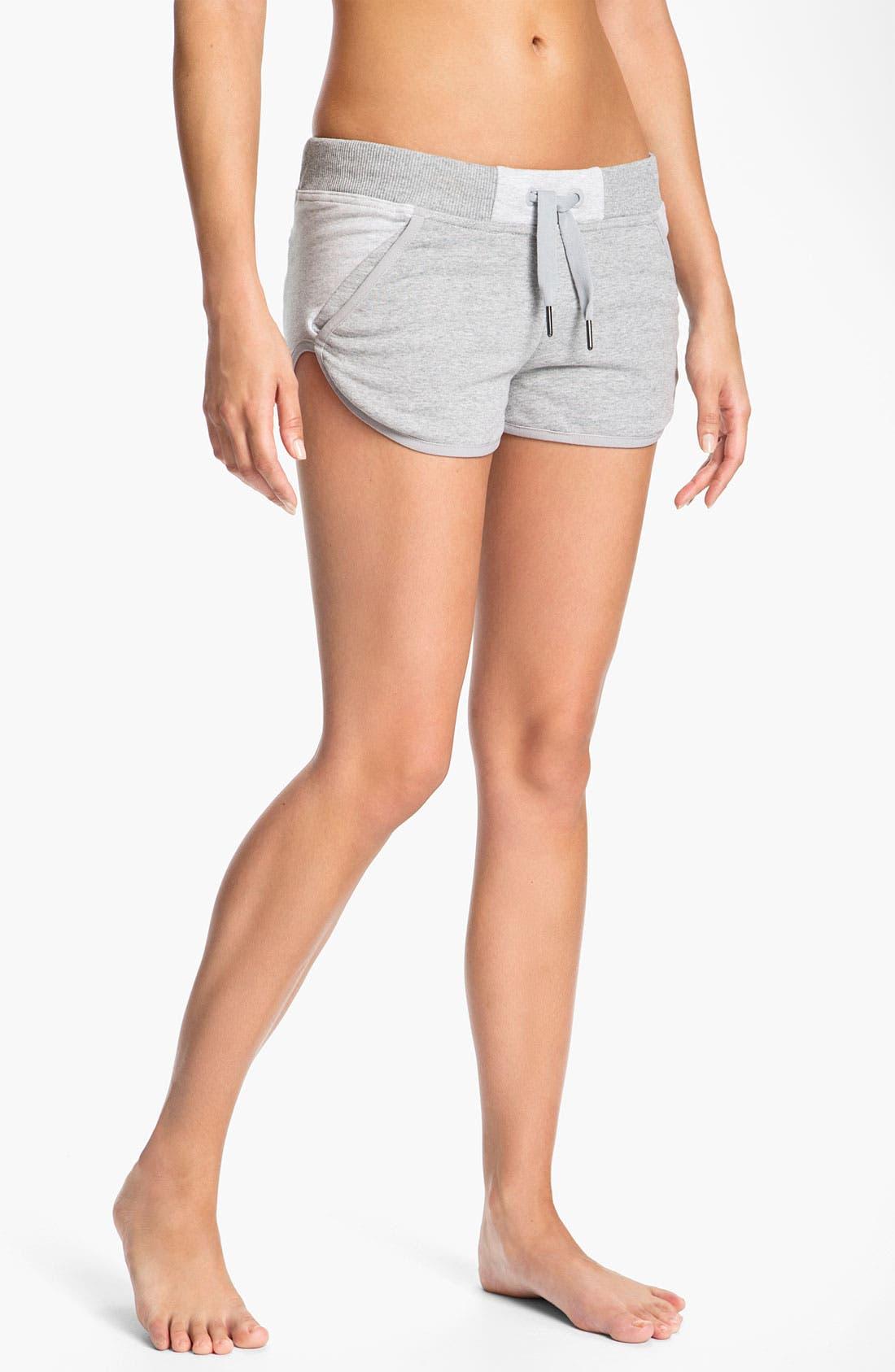 Alternate Image 1 Selected - adidas by Stella McCartney 'Essentials' Organic Cotton Shorts