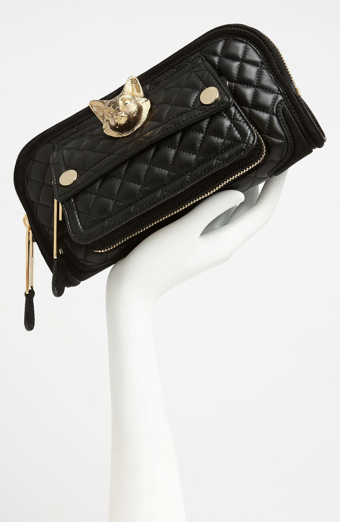 Alternate Image 2  - Burberry Prorsum Quilted Leather Clutch
