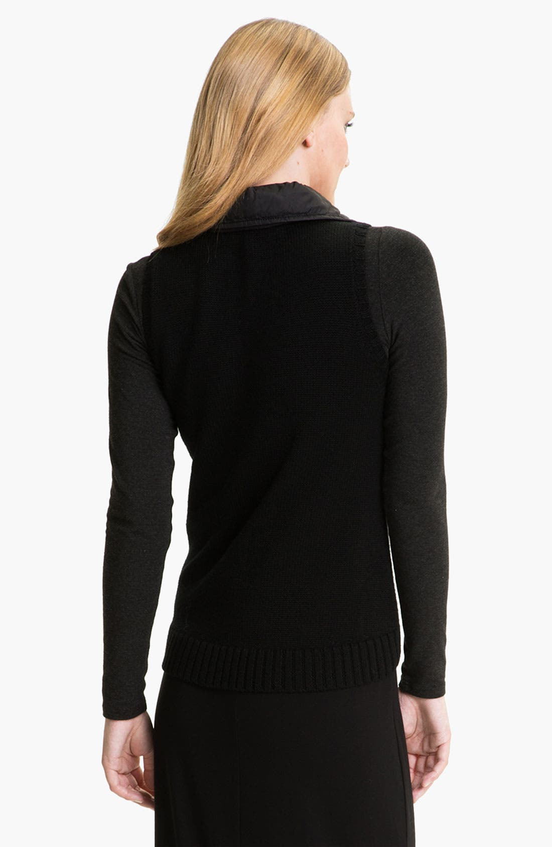 Alternate Image 2  - Eileen Fisher Parka Trim Wool Vest