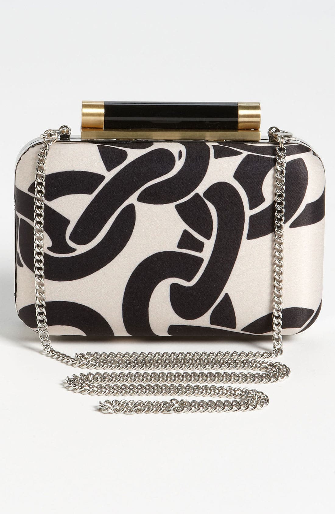 Alternate Image 4  - Diane von Furstenberg 'Tonda' Satin Clutch