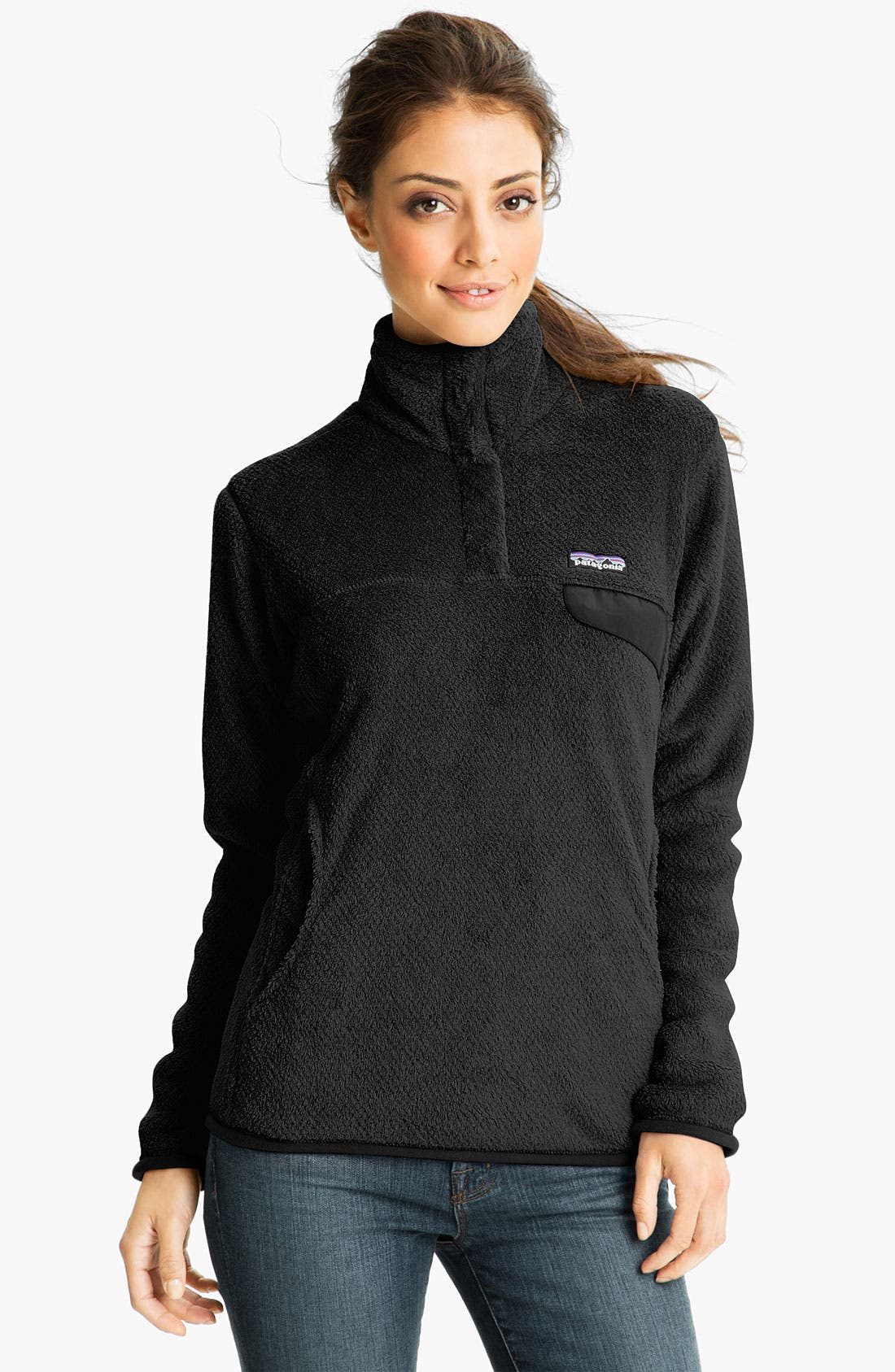 Alternate Image 1 Selected - Patagonia 'Re-Tool' Snap Pullover