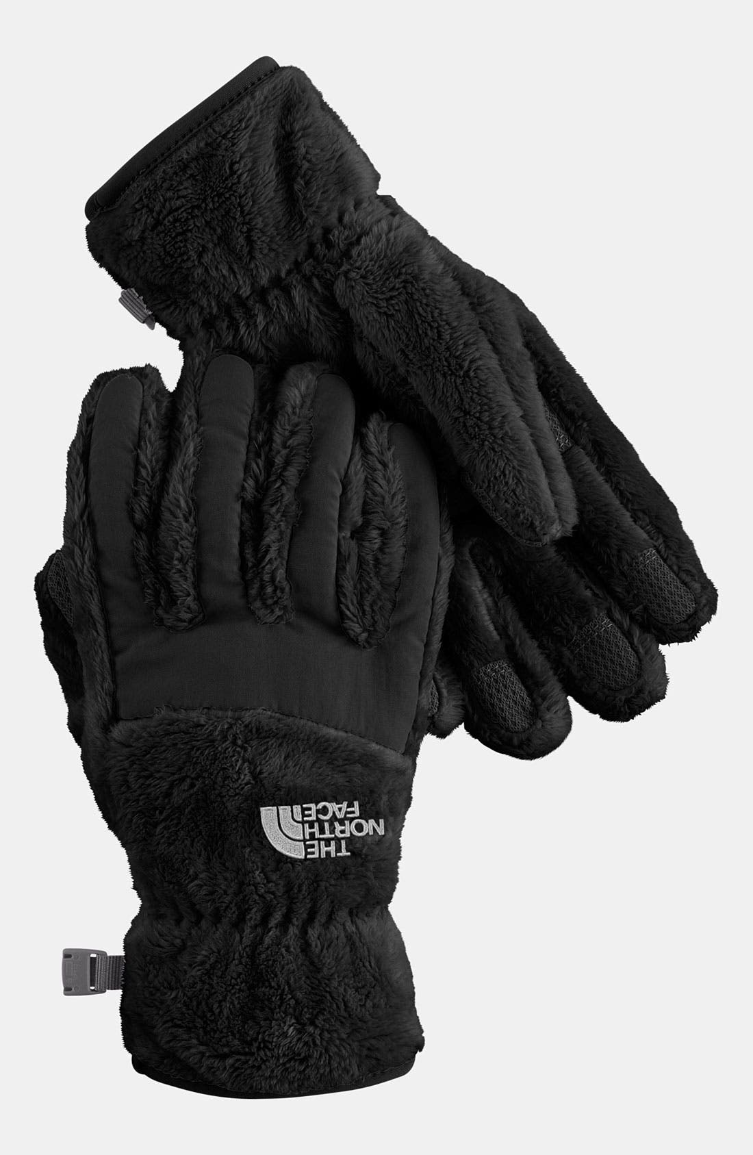 Alternate Image 1 Selected - The North Face 'Denali' Thermal Gloves (Girls)