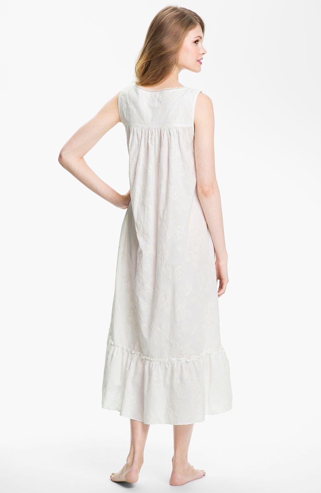 Alternate Image 2  - Eileen West 'Quartz Crystal' Sleeveless Nightgown