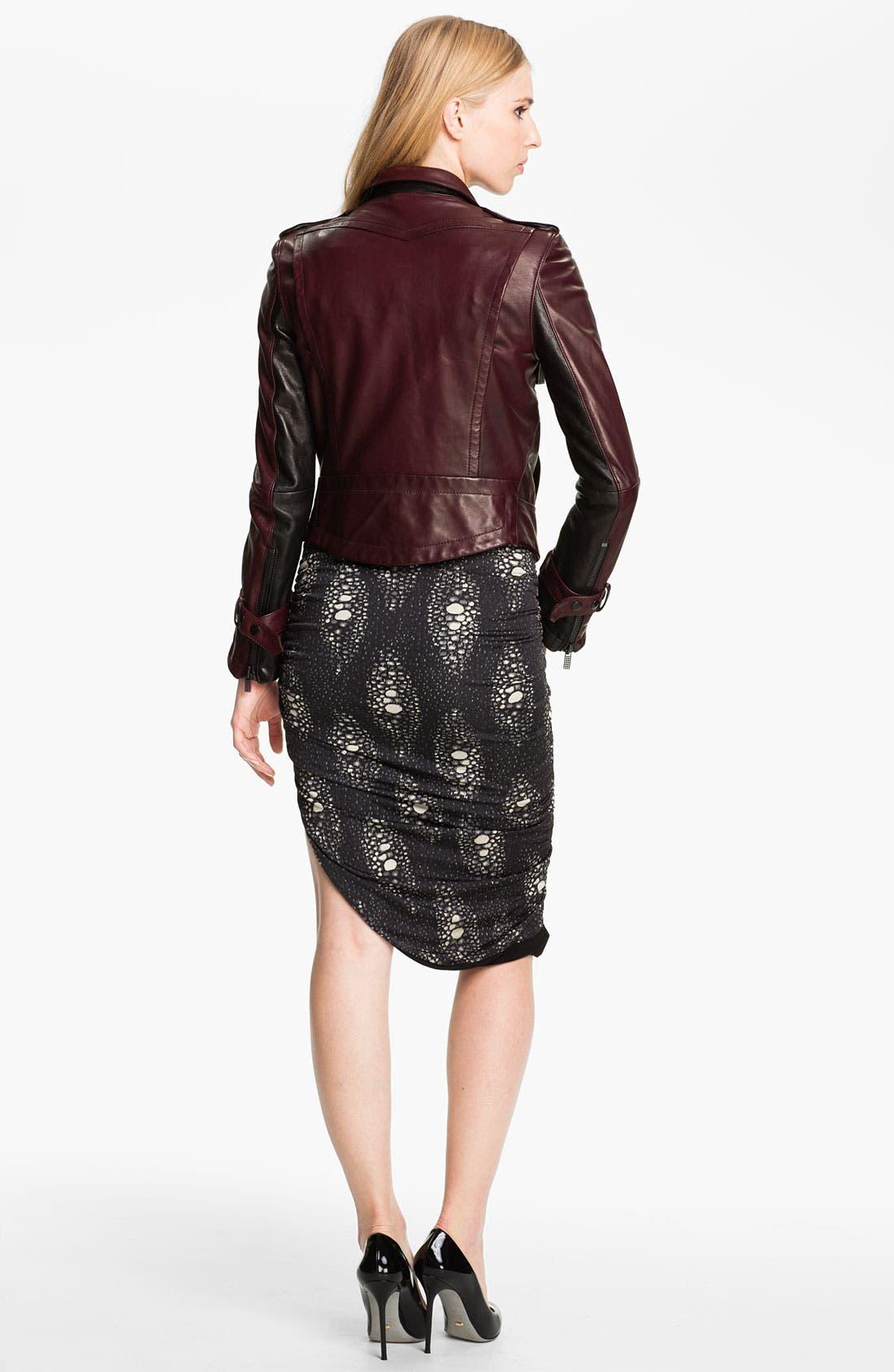 Alternate Image 2  - Kelly Wearstler 'Triton' Asymmetrical Leather Jacket