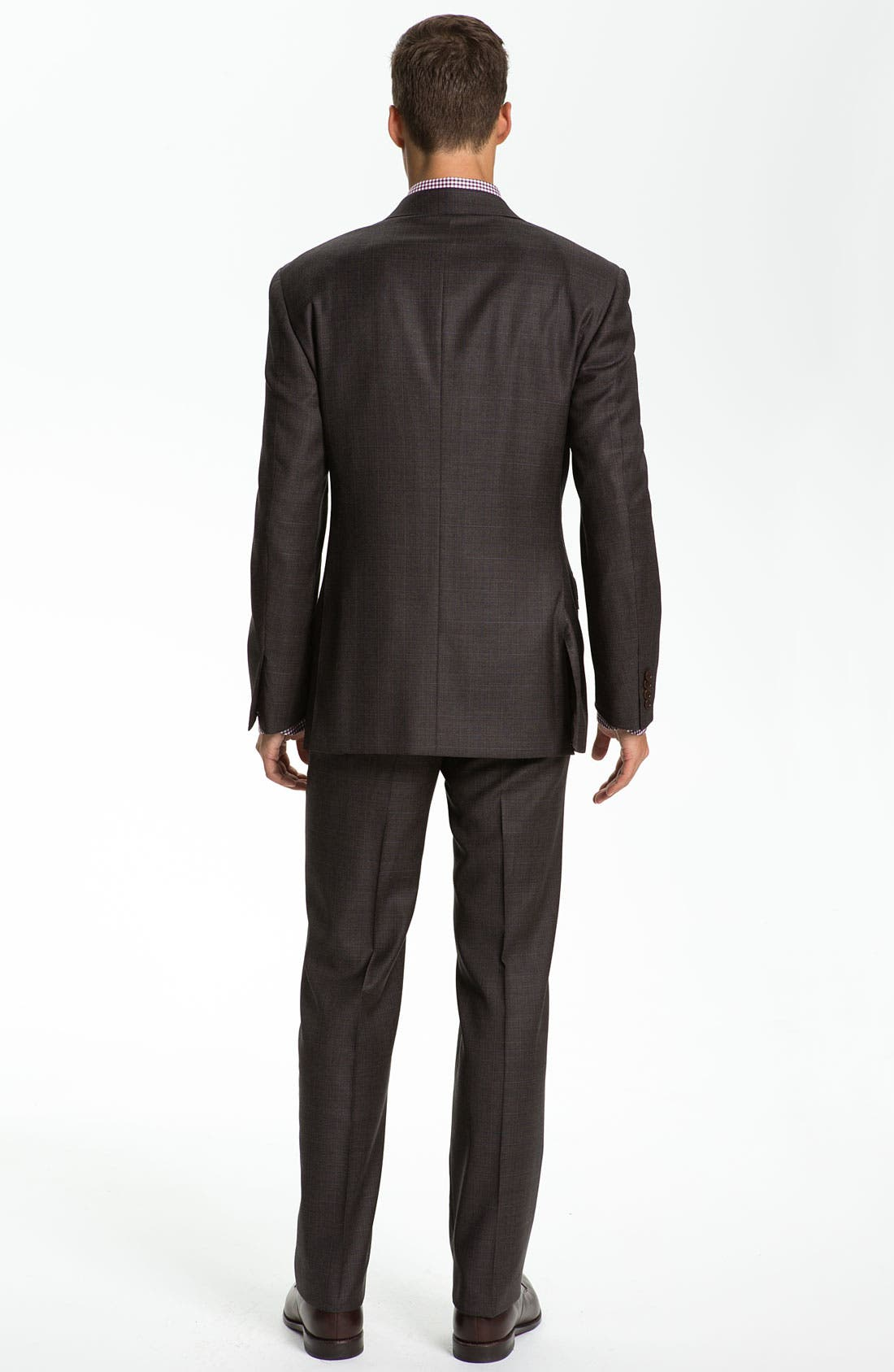 Alternate Image 3  - Canali Three Piece Wool Suit
