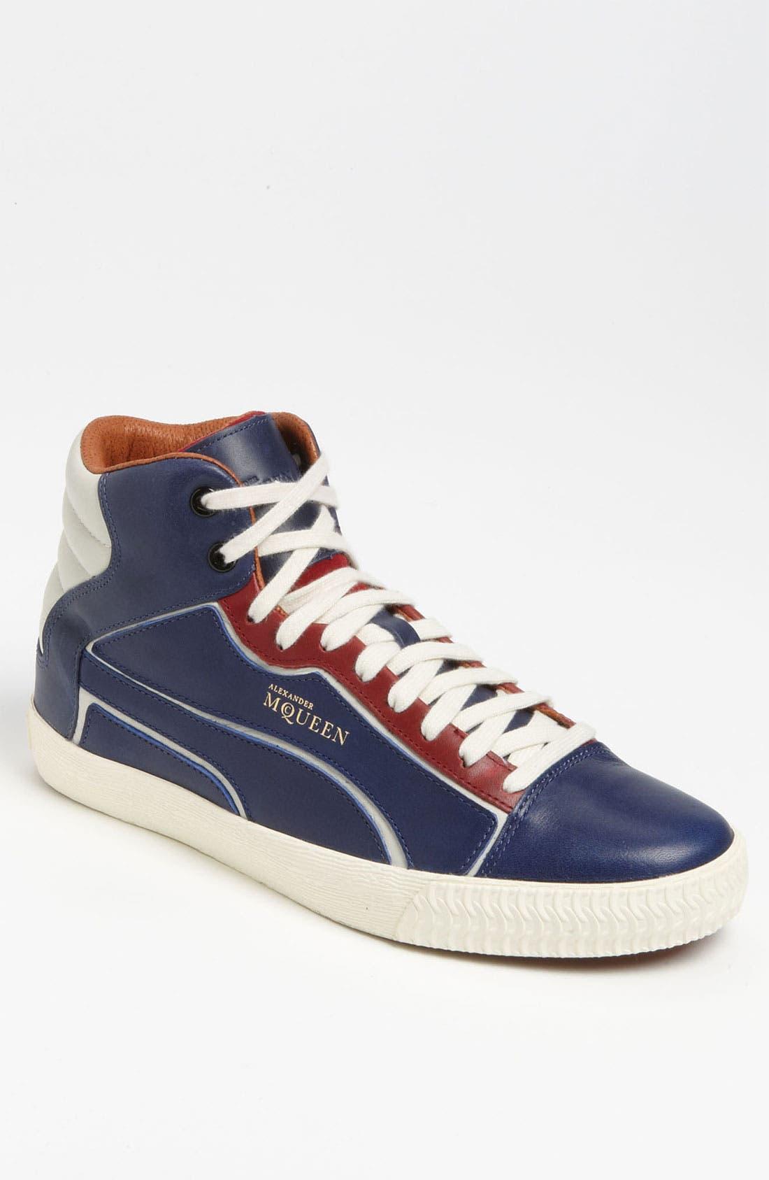 Alternate Image 1 Selected - PUMA 'Alexander McQueen - Street Climb II Mid' Sneaker